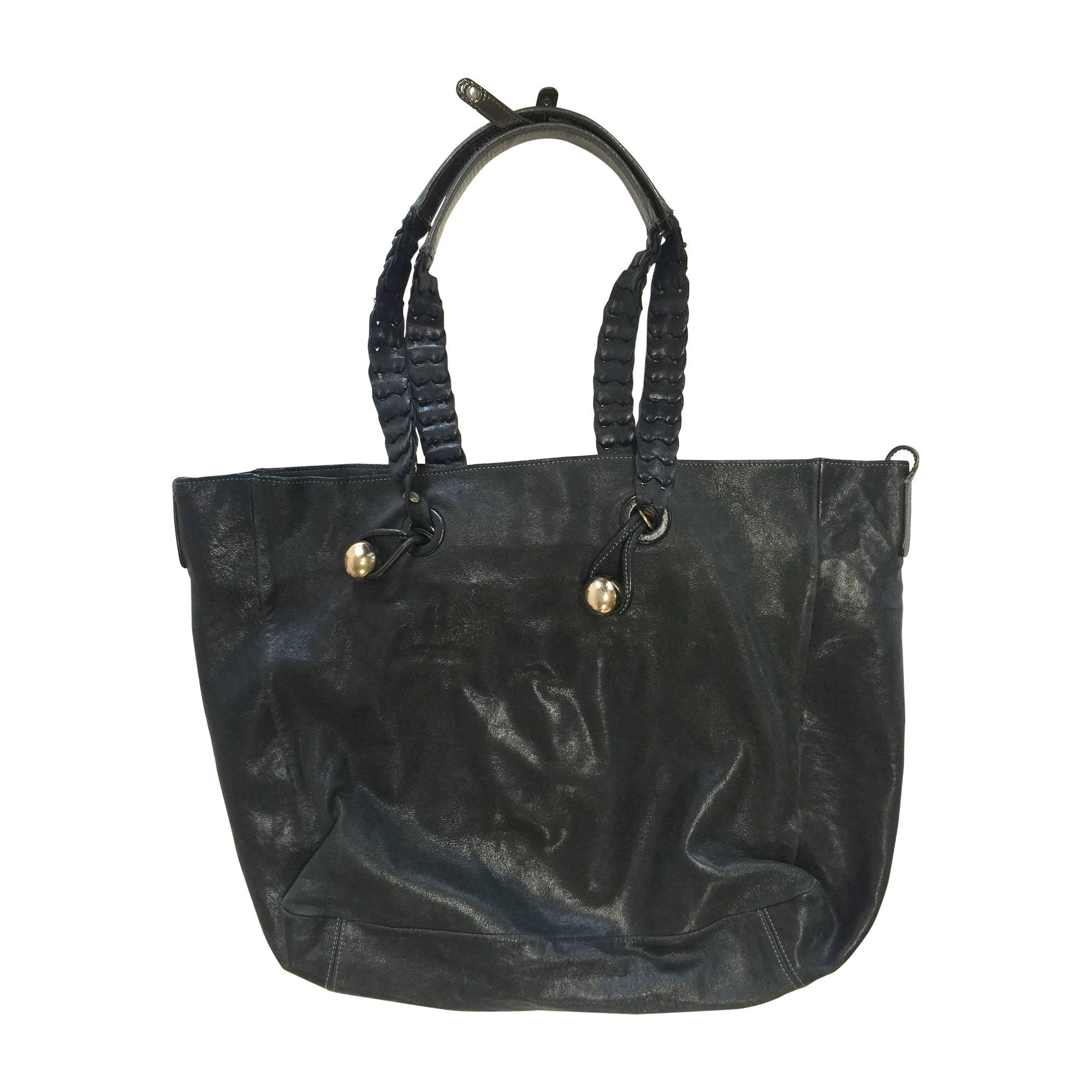 sac main en cuir chlo noir vendu par anna anna 4959037. Black Bedroom Furniture Sets. Home Design Ideas