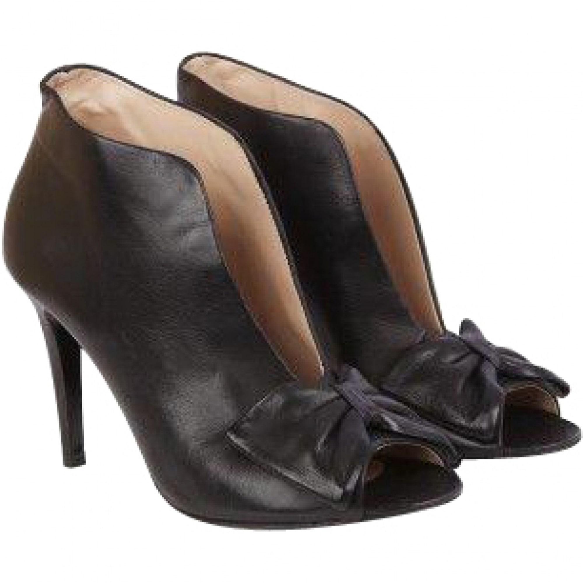 d901a4f8770d Bottines   low boots à talons PABLO DE GERARD DAREL 38 noir vendu ...