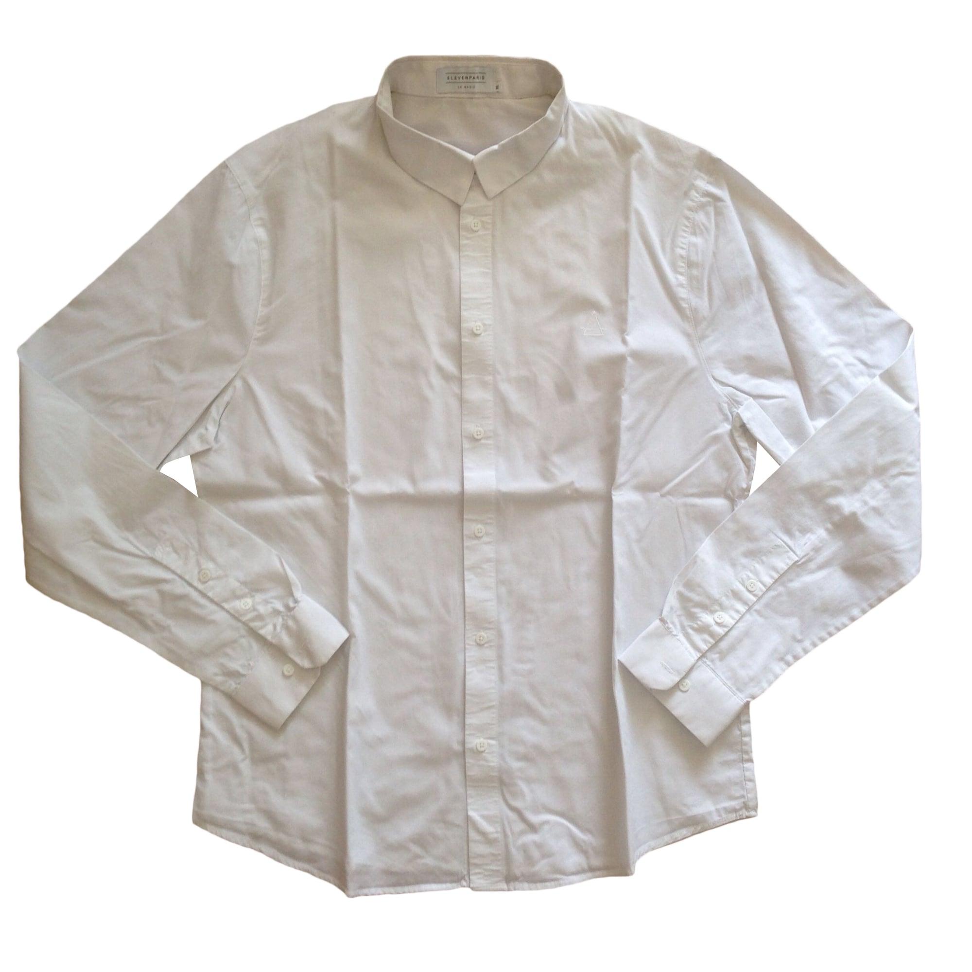 Chemise ELEVEN PARIS Blanc, blanc cassé, écru