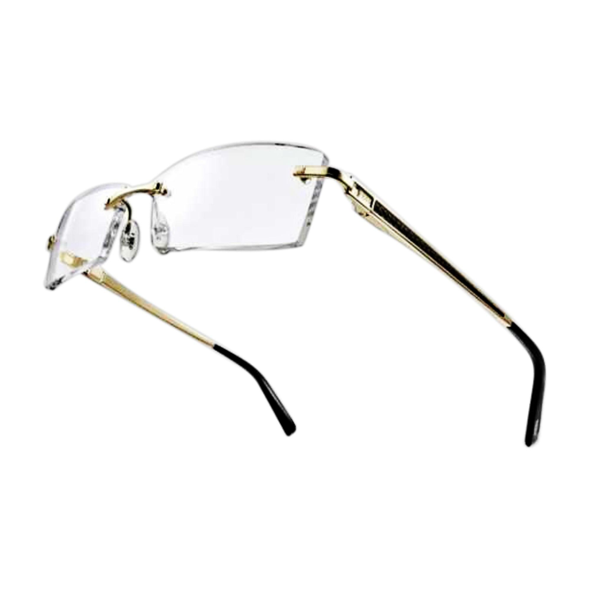 6a89bffd0183dd Monture de lunettes FRED or et noir - 5071624