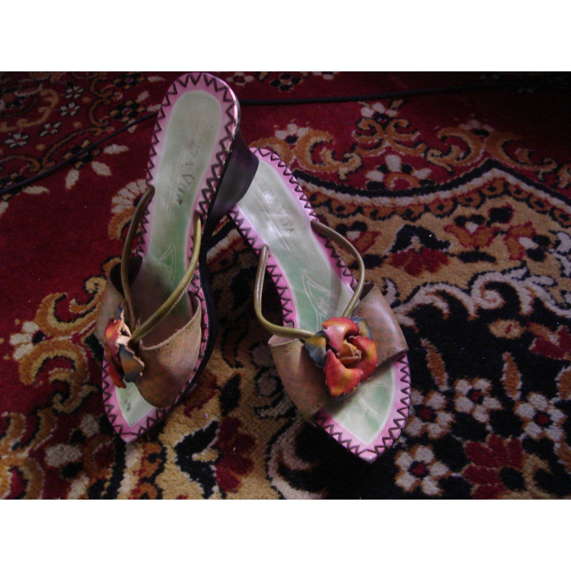 Compensées Laura Vita 5075662 Sandales 40 Multicouleur cRL54q3Aj