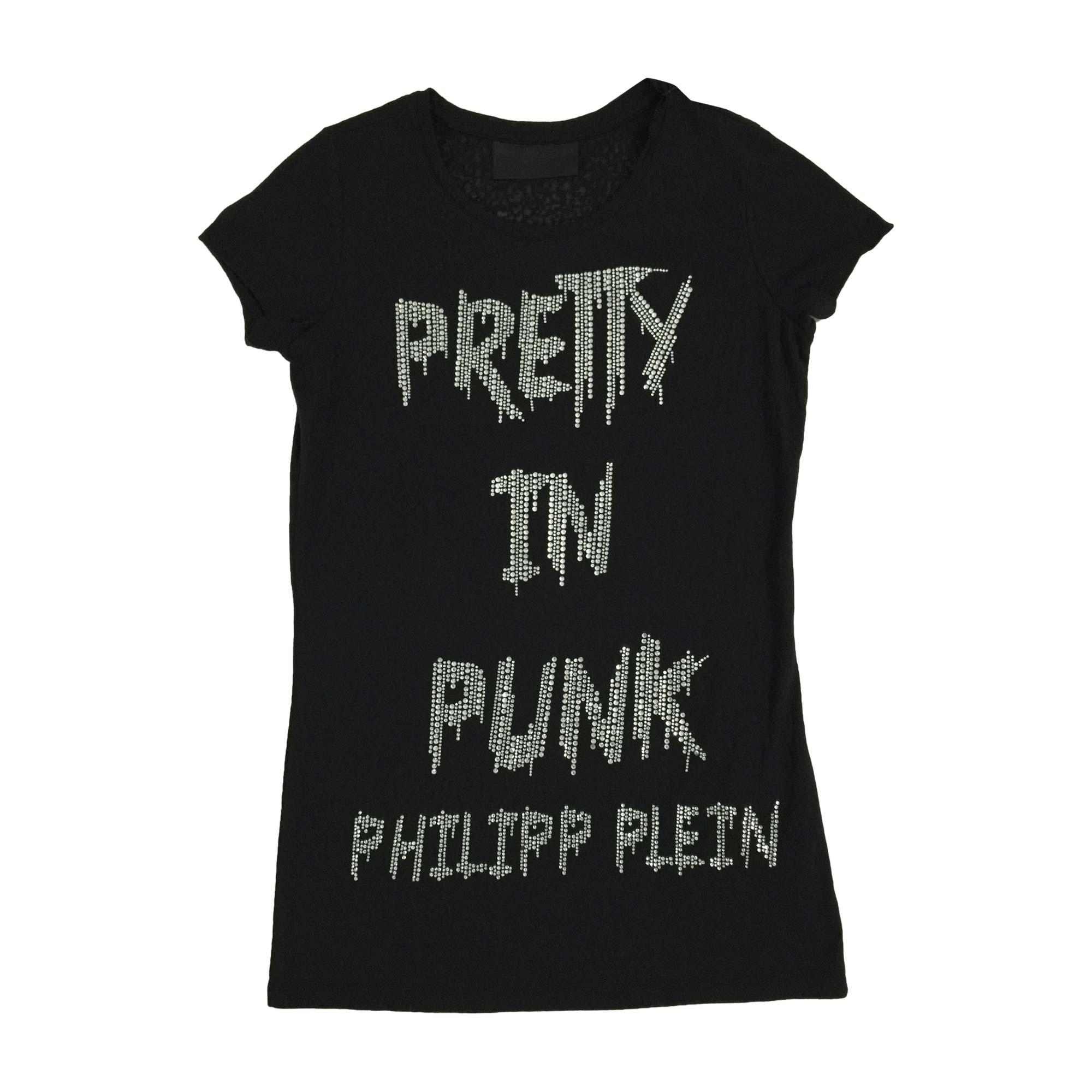 Top, tee-shirt PHILIPP PLEIN Noir