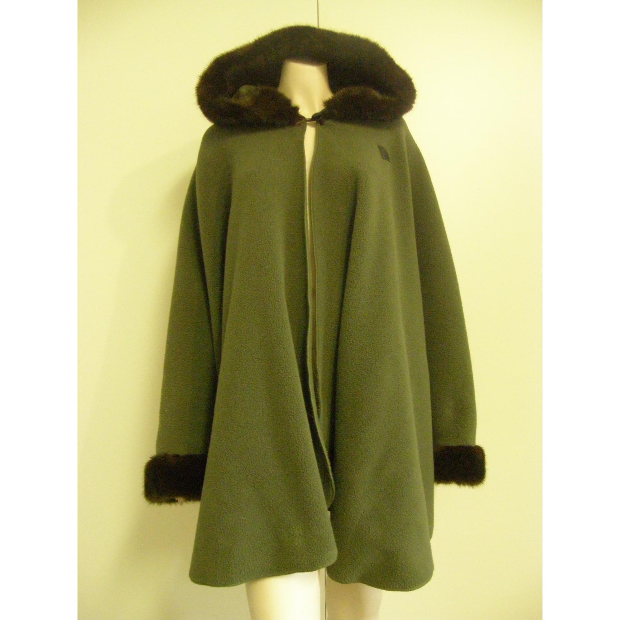 Poncho J MOURA Taille unique vert vendu par Cafougnette - 5092854 9bafe2dd30e