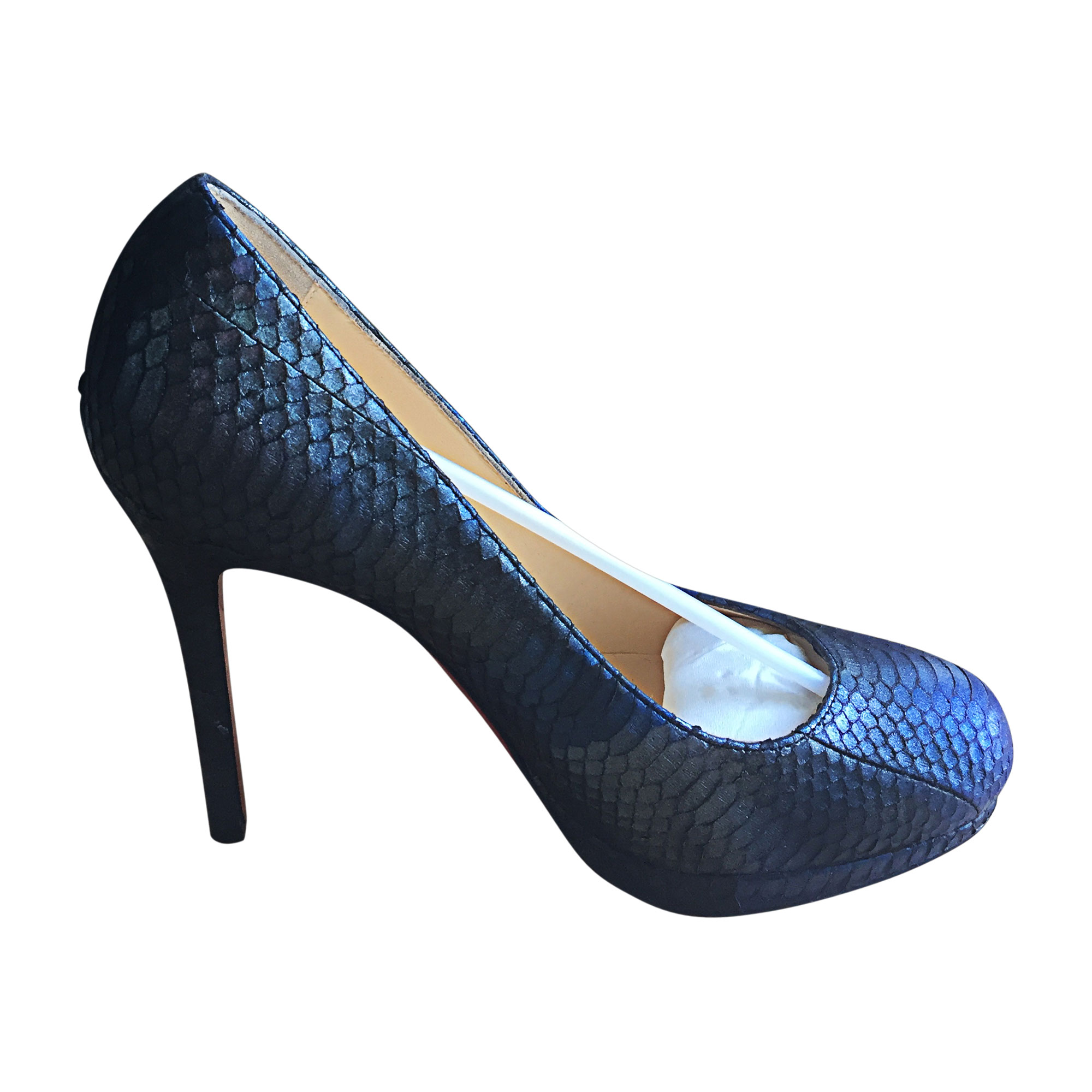 Pumps, Heels CHRISTIAN LOUBOUTIN Blue, navy, turquoise