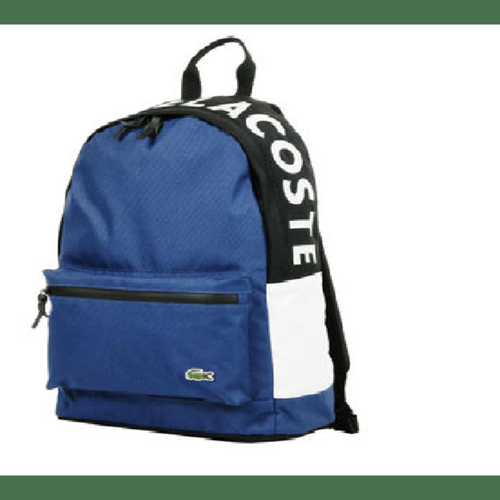 3710ebe718 Sac à dos LACOSTE Bleu, bleu marine, bleu turquoise