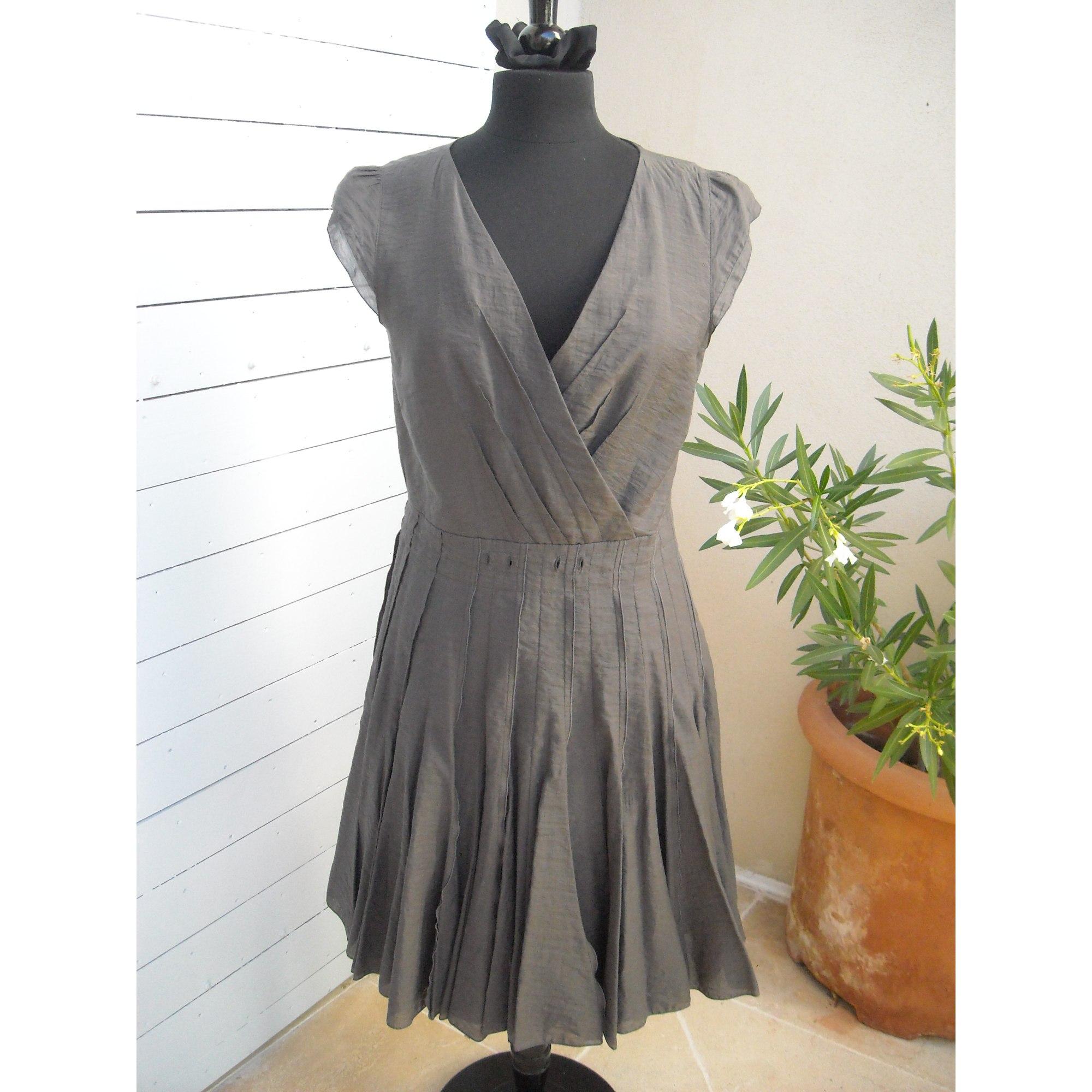 Robe courte CAROLL 42 (L XL, T4) gris vendu par Rosane101560 - 5145242 04930367c216