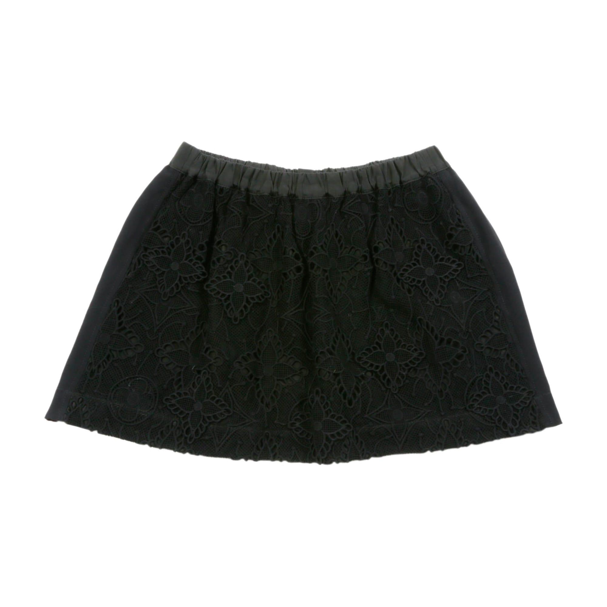 Mini Skirt LOUIS VUITTON Black