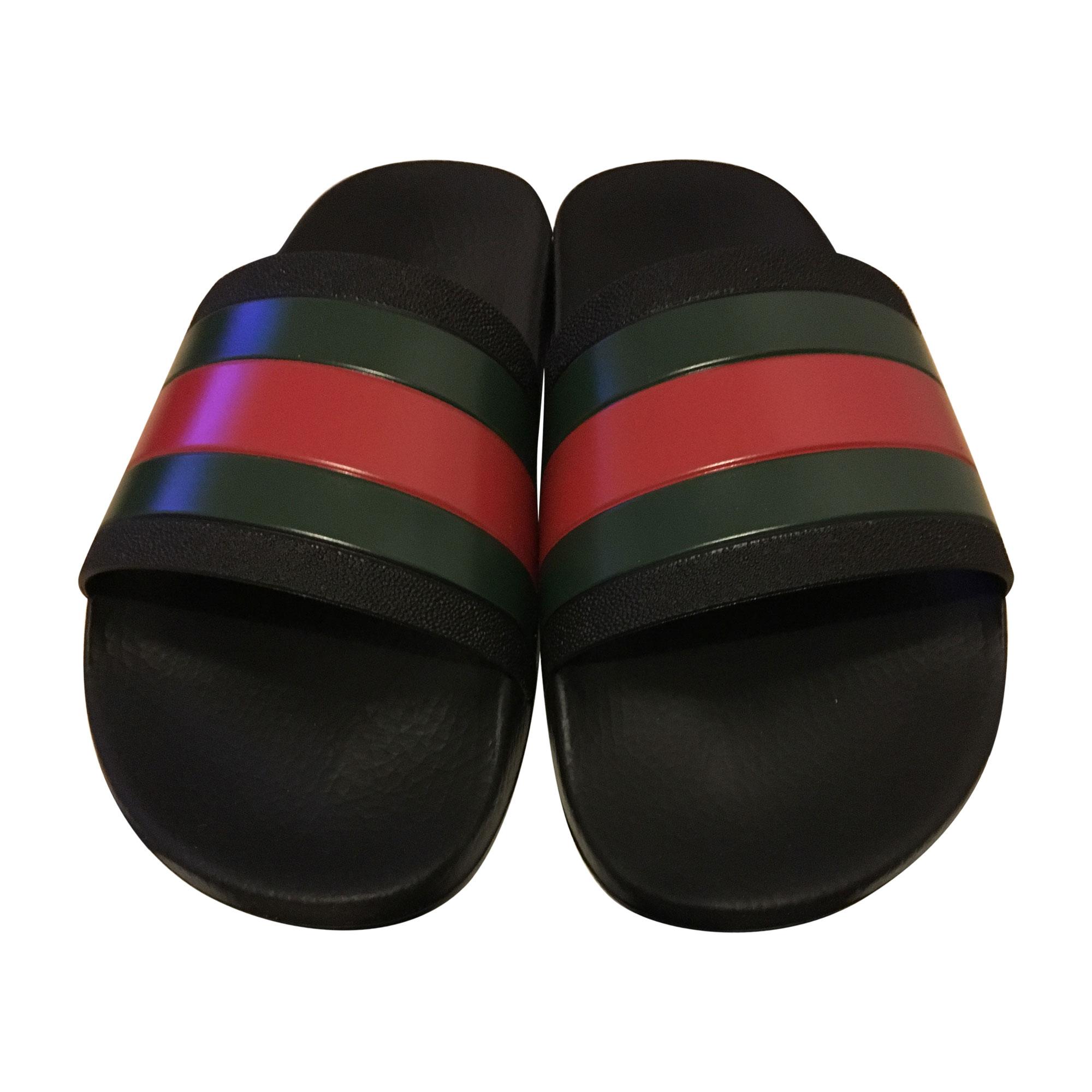 Chaussons   pantoufles GUCCI hysteria 42 noir vendu par Aaliyah14 ... 3ad5705f266