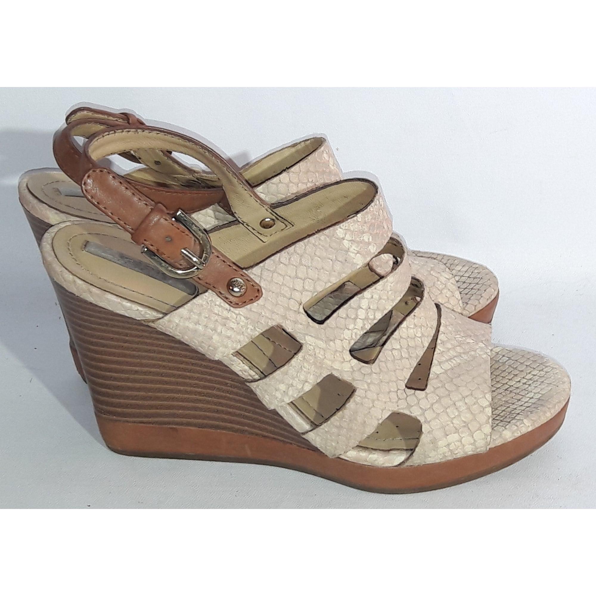 Sandales compensées GEOX 36 beige - 5198364 719cba15d483