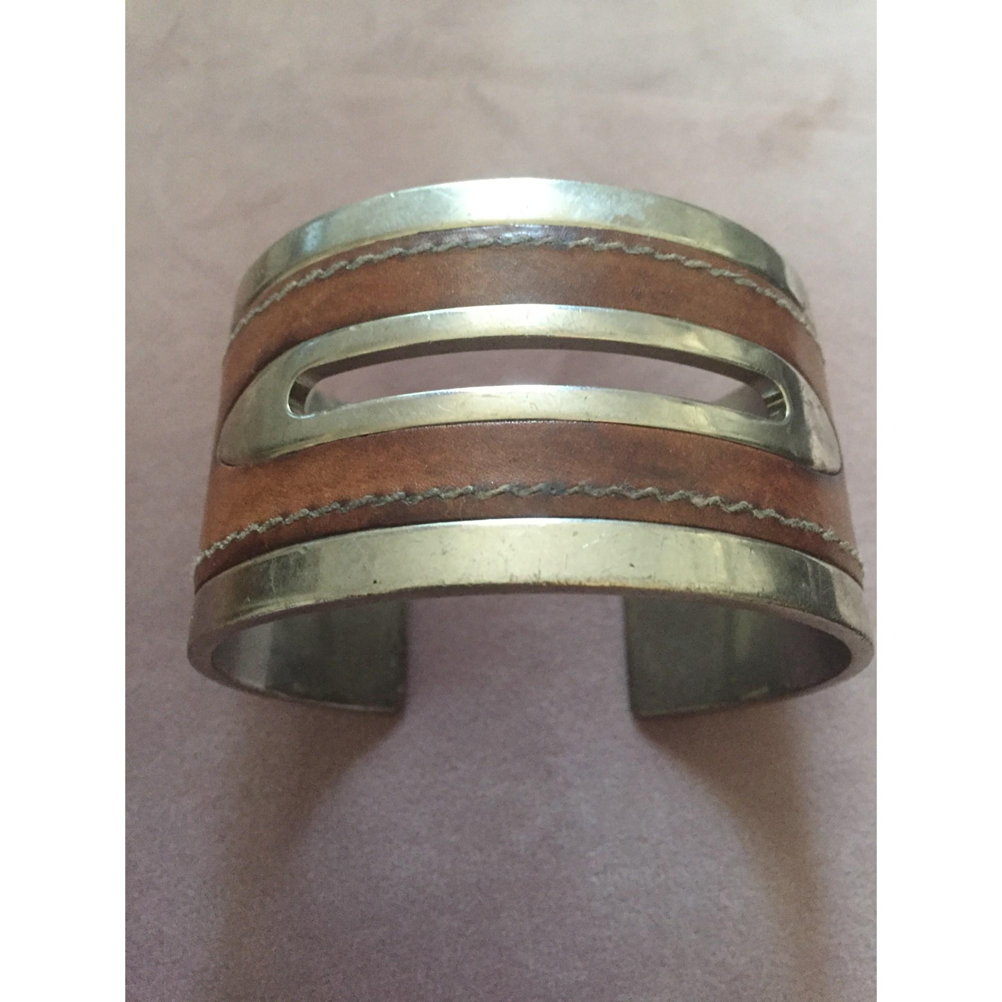 Bracelet TOD S acier marron