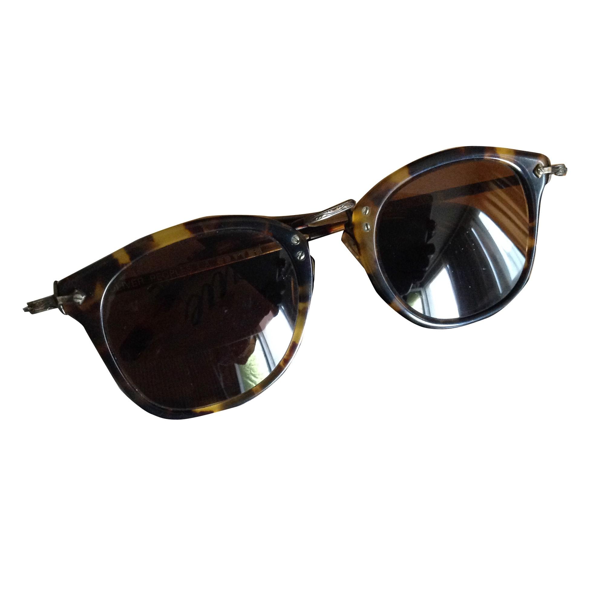 20666047d76451 Monture de lunettes OLIVER PEOPLES marron - 5217427