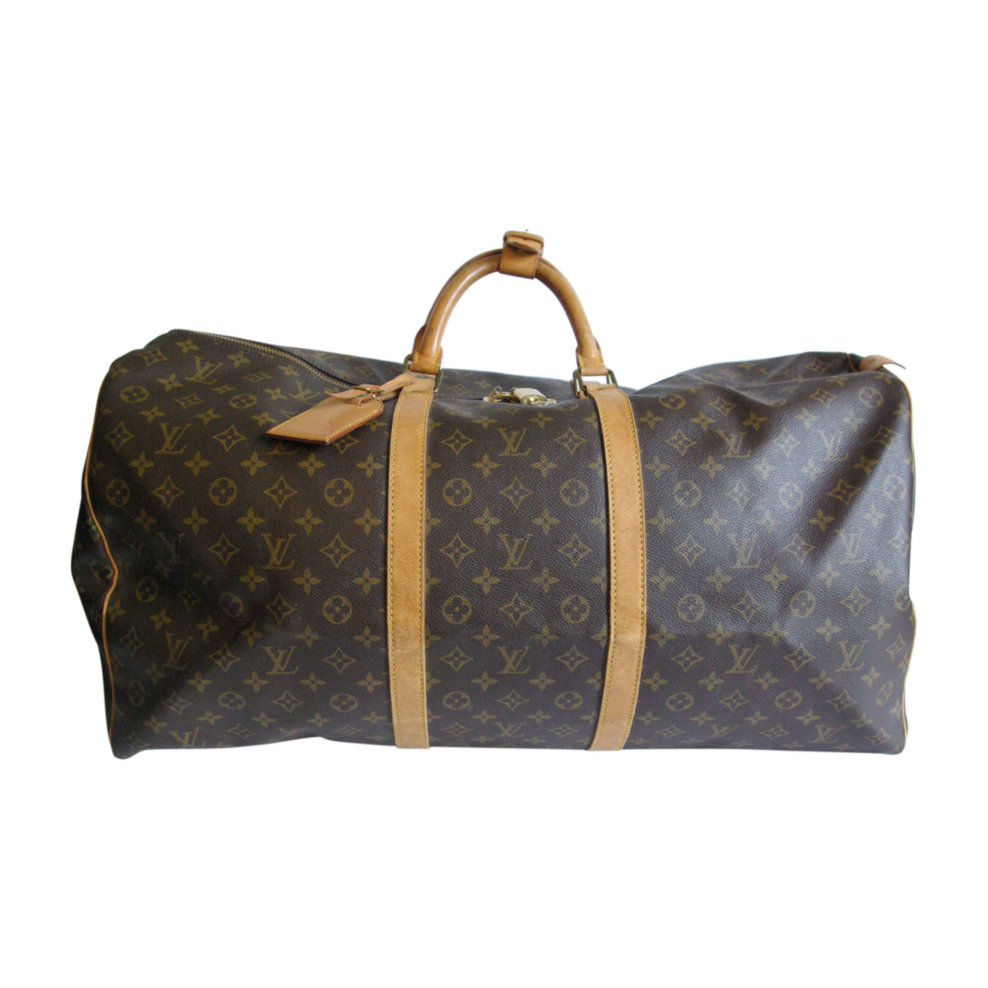 ledertasche gro louis vuitton braun vendu par l comme luxe 5232813. Black Bedroom Furniture Sets. Home Design Ideas