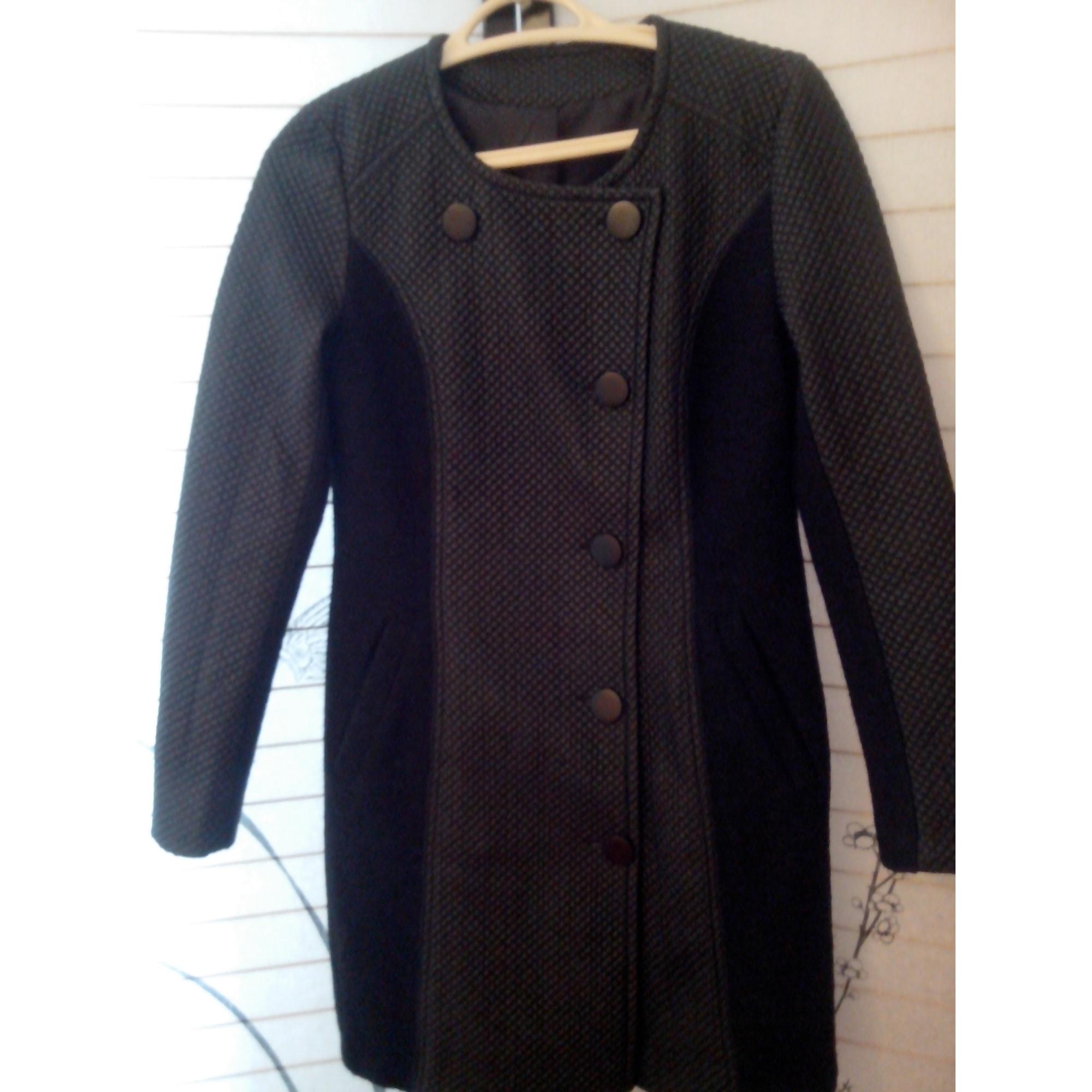 Manteau noir c&a