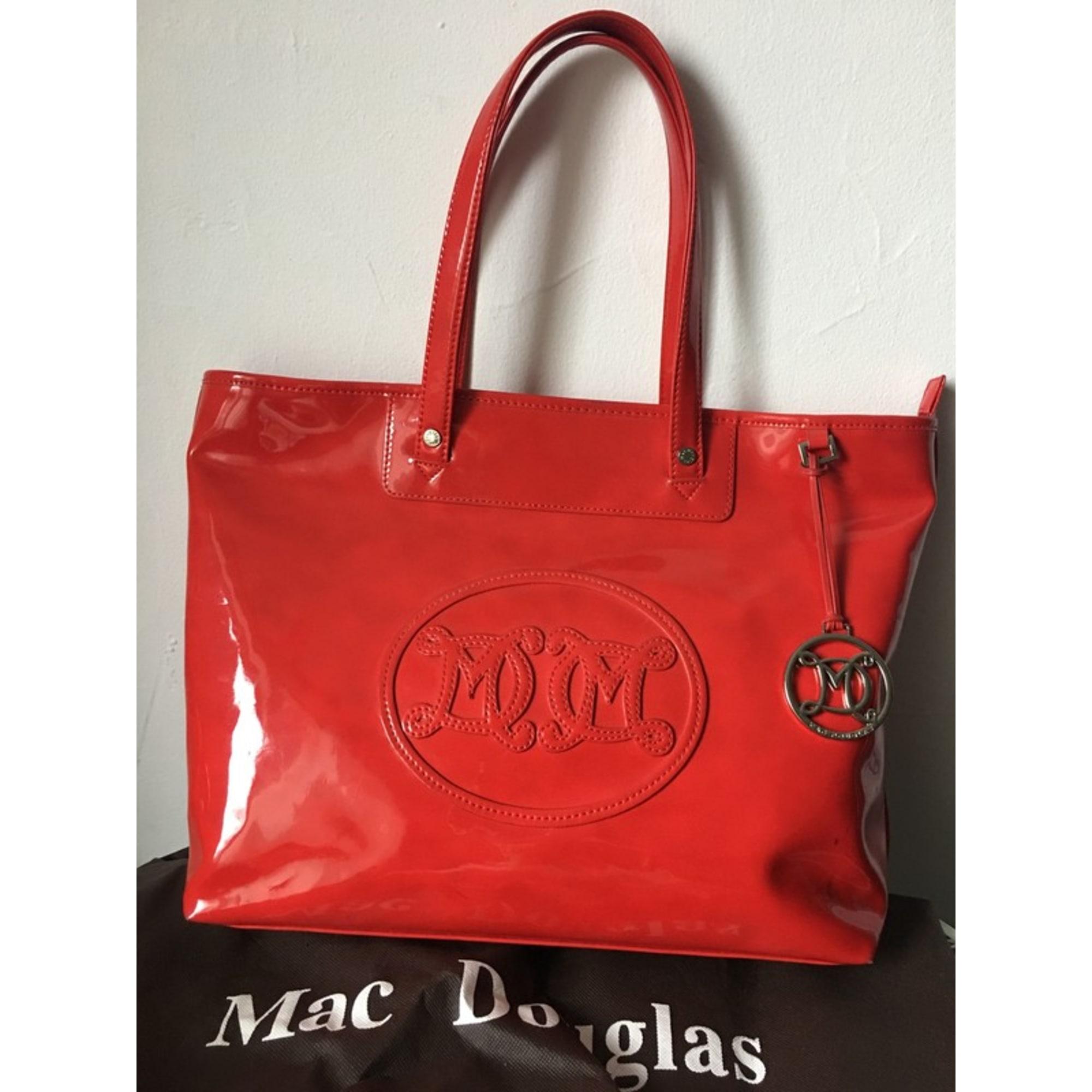 3a835f9b6c Sac à main en cuir MAC DOUGLAS Rouge, bordeaux
