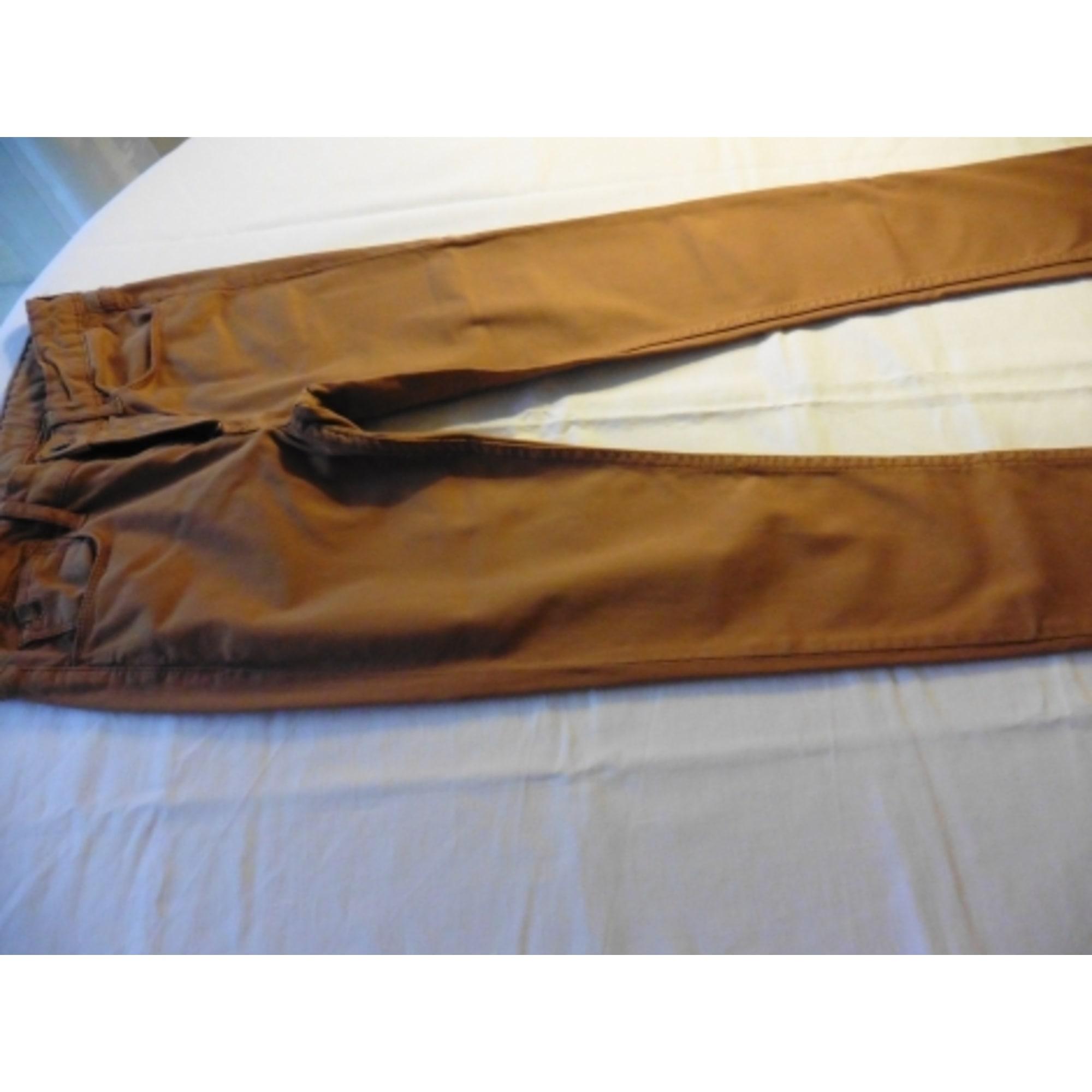 Pantalon LE TEMPS DES CERISES coton beige 11-12 ans