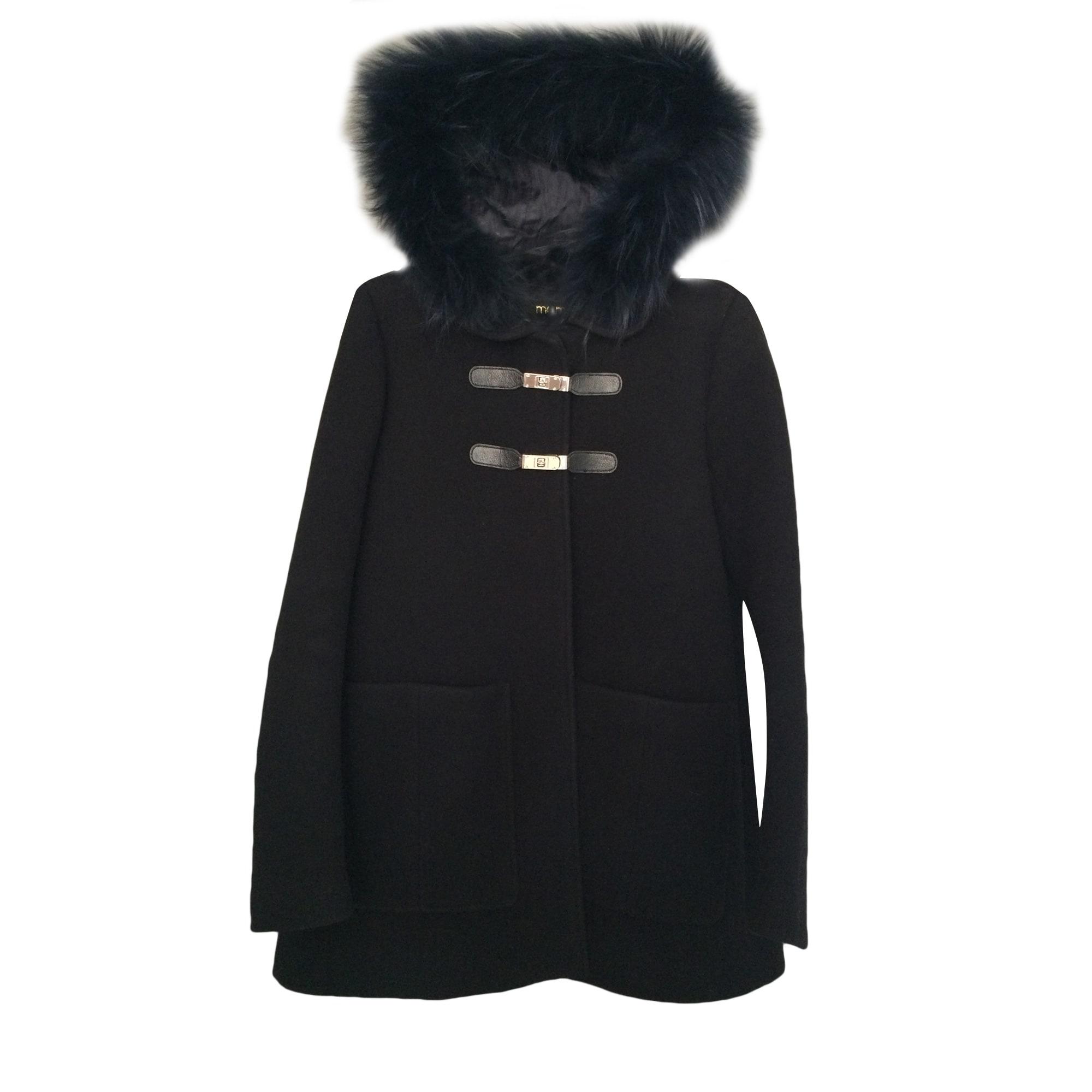 0eec59f073fe2 Manteau MAJE 36 (S, T1) noir vendu par Elo-die - 5311620