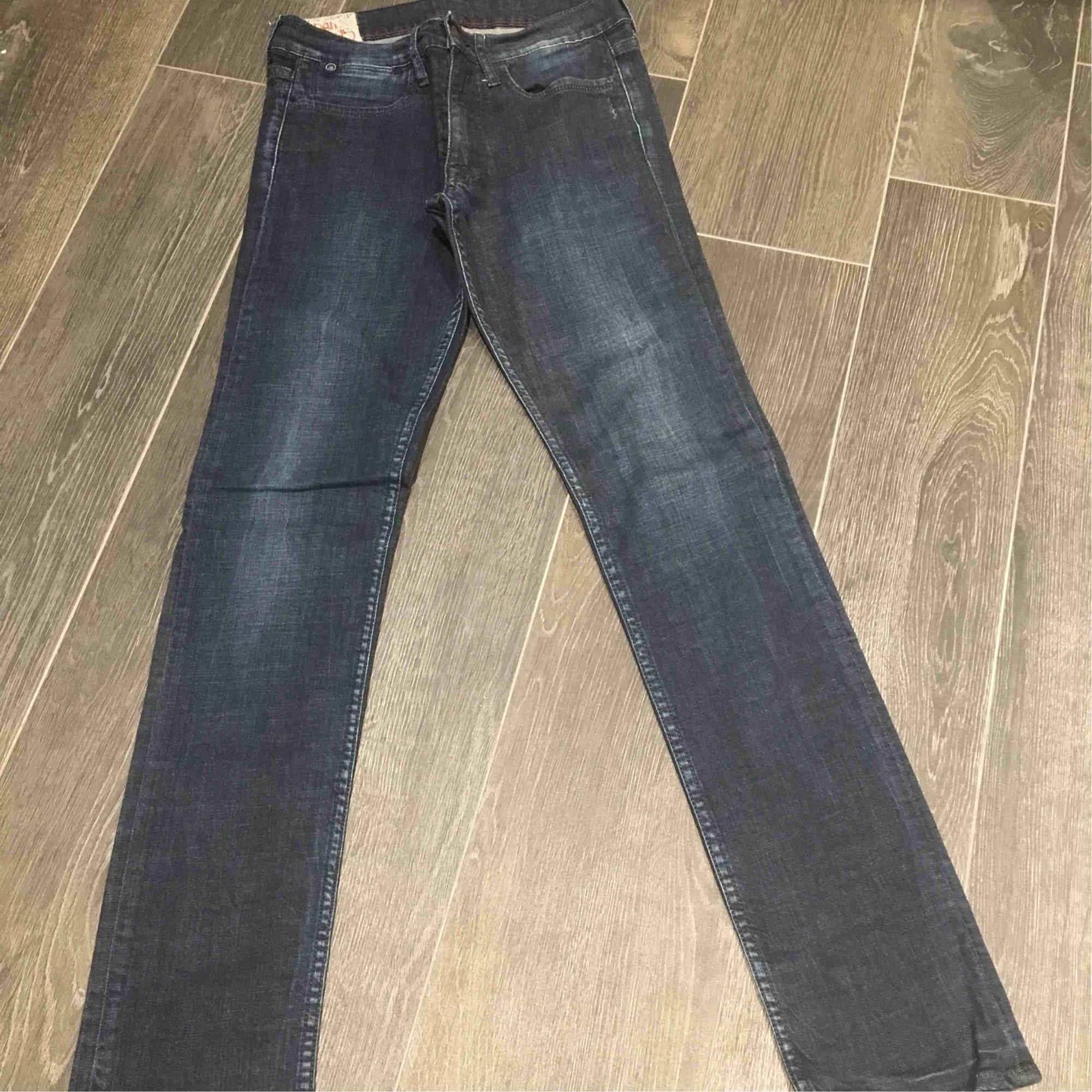 Pantalon JAPAN RAGS Bleu, bleu marine, bleu turquoise
