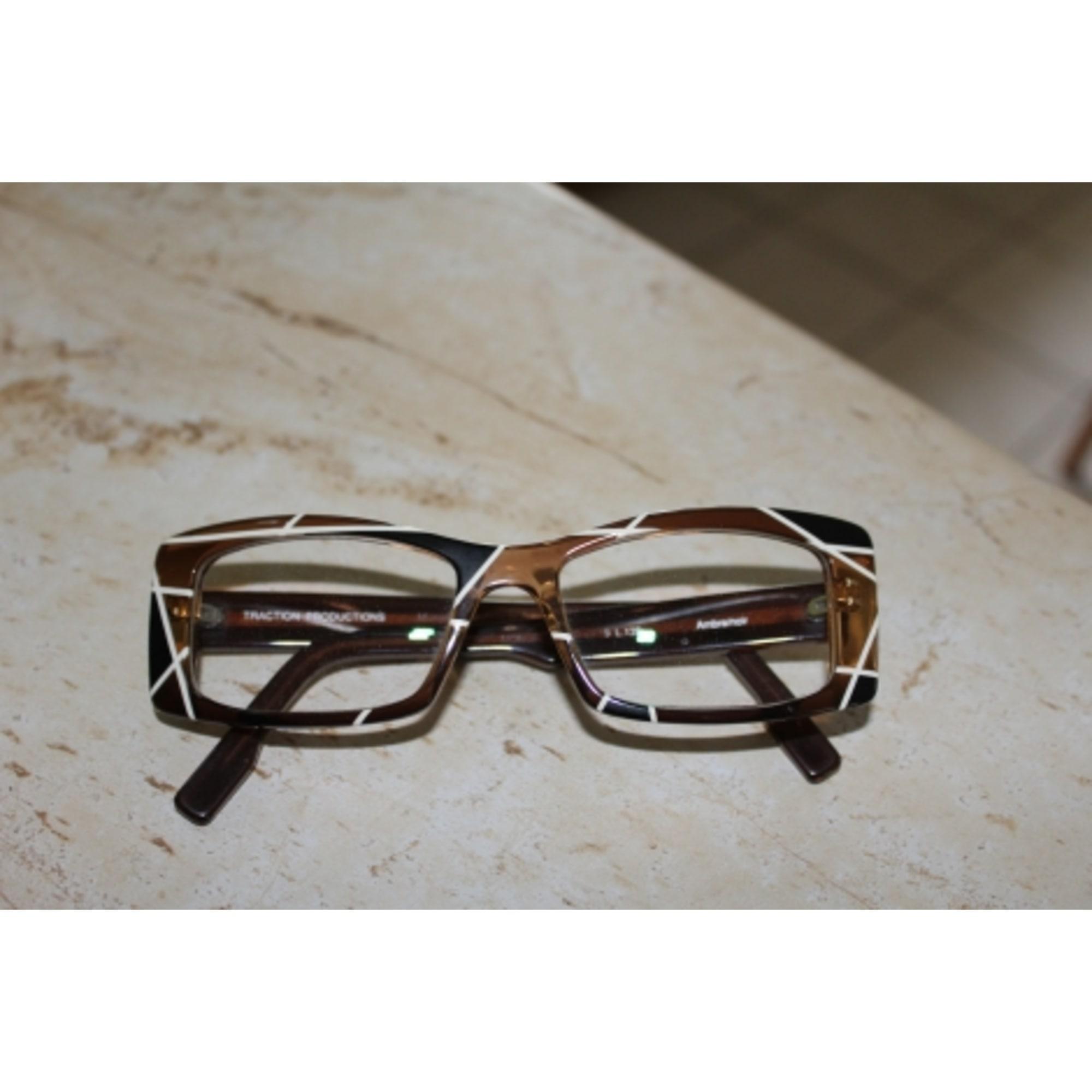 Monture de lunettes TRACTION PRODUCTIONS marron vendu par Mill85 ... 1fd7409cbc28
