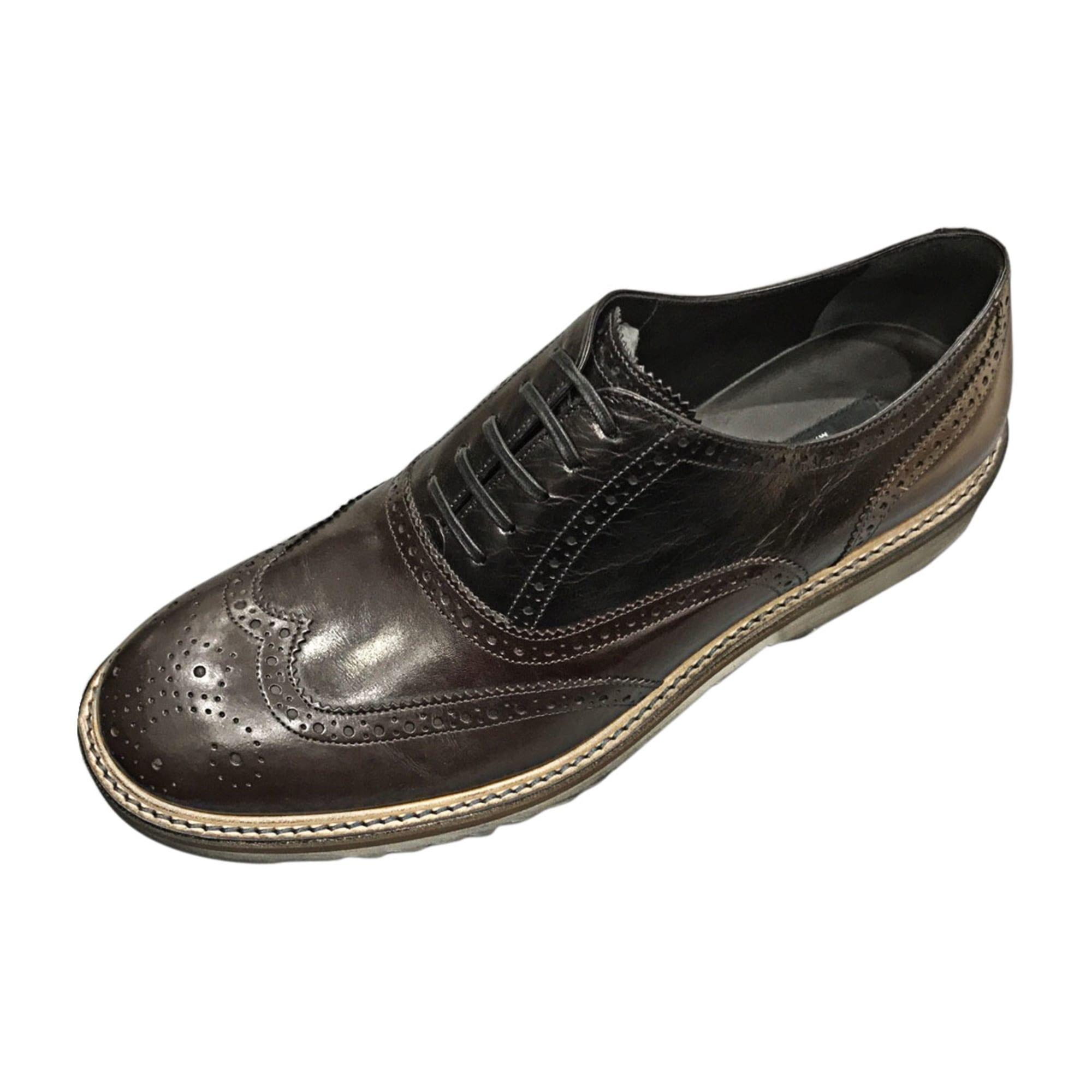 brand new 5075a fca0d Chaussures amp  42 lacets noir GABBANA à 5337005 DOLCE AxrqAT