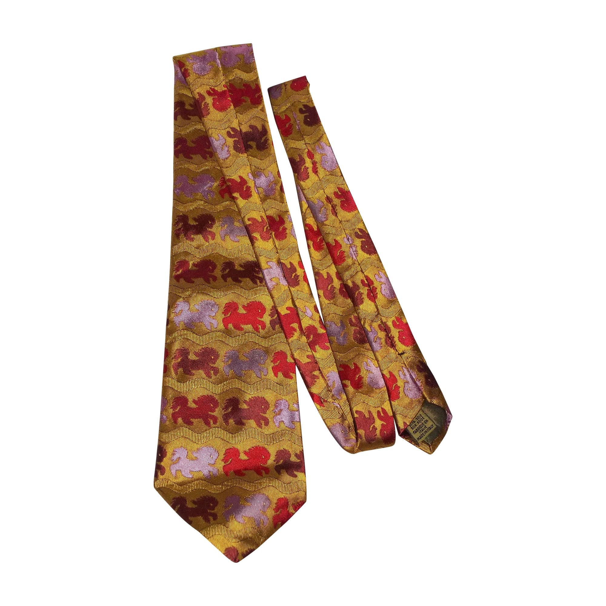 Cravate CHRISTIAN LACROIX Multicouleur