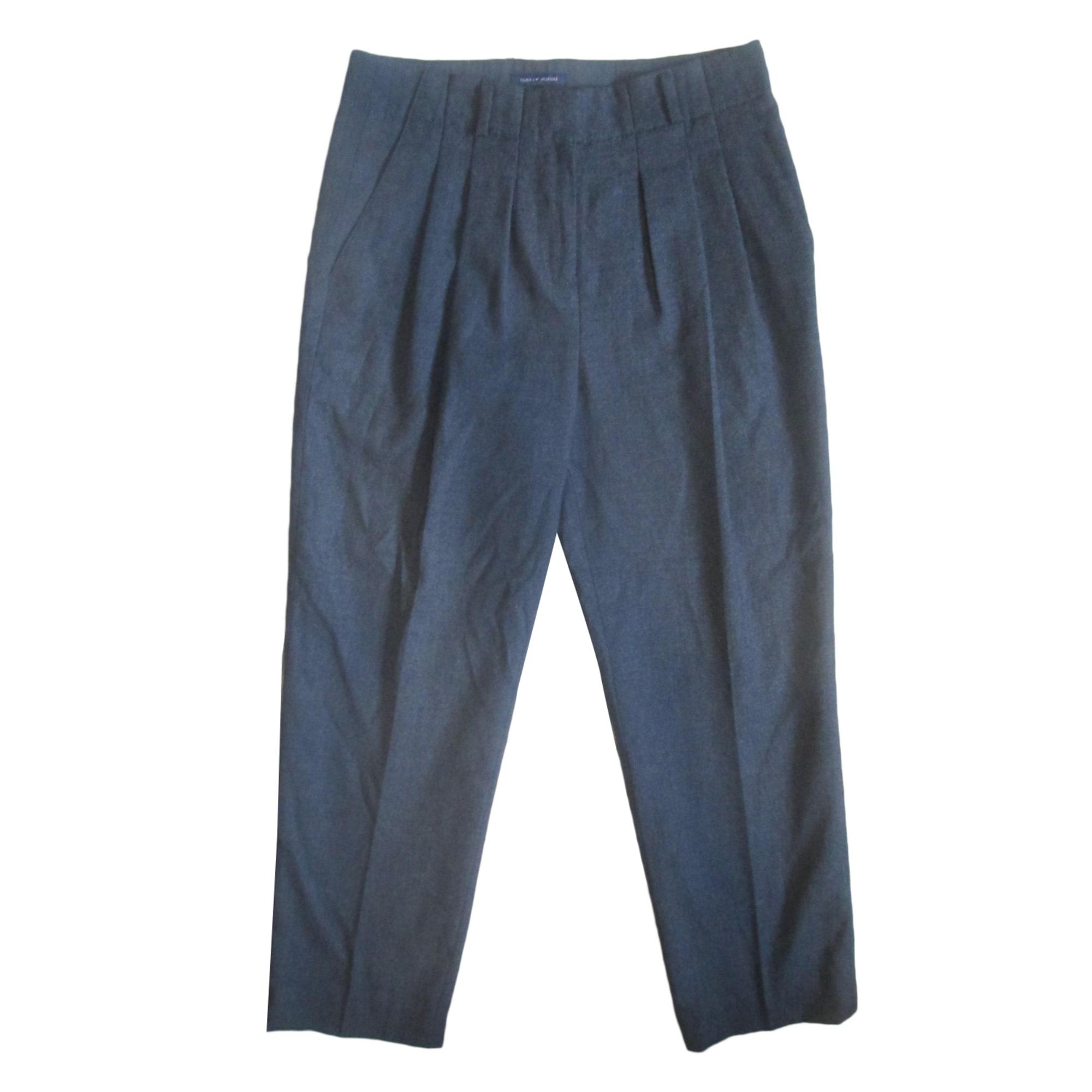 Pantalon carotte TOMMY HILFIGER Gris, anthracite