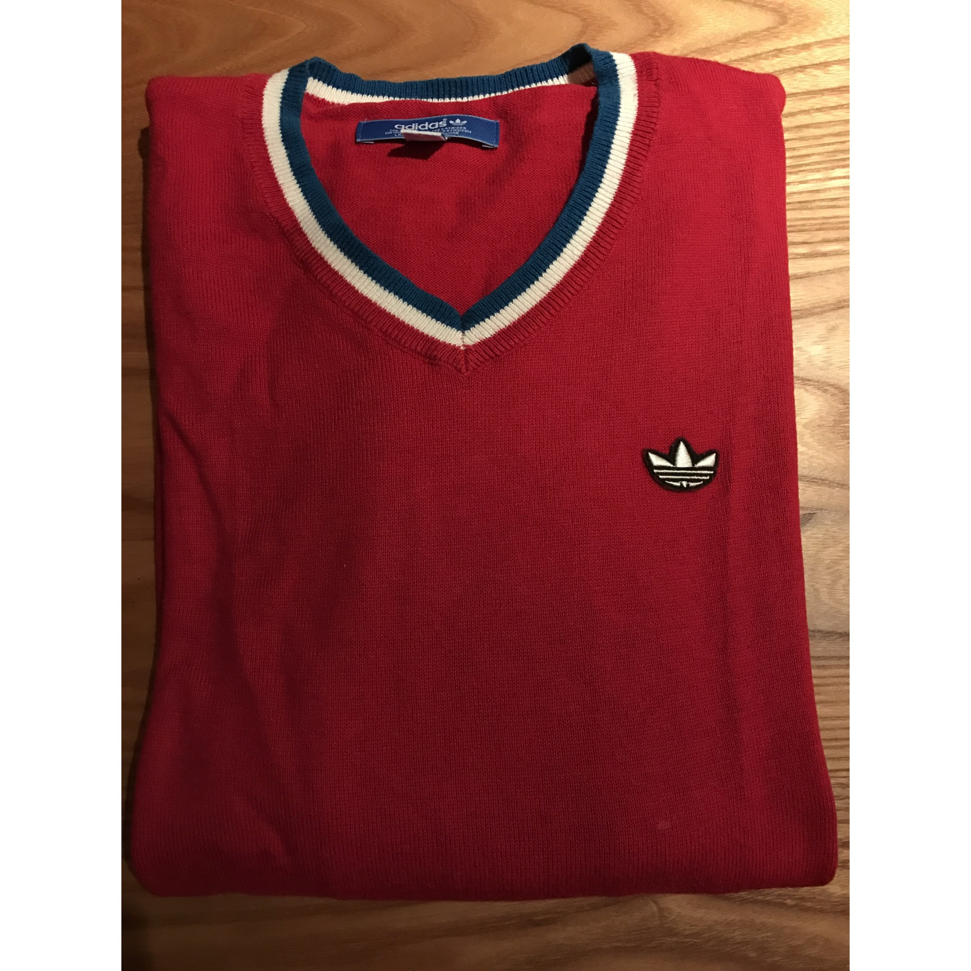 a21e59ed4ca45 Pull ADIDAS 0 (XS) rouge - 5362351