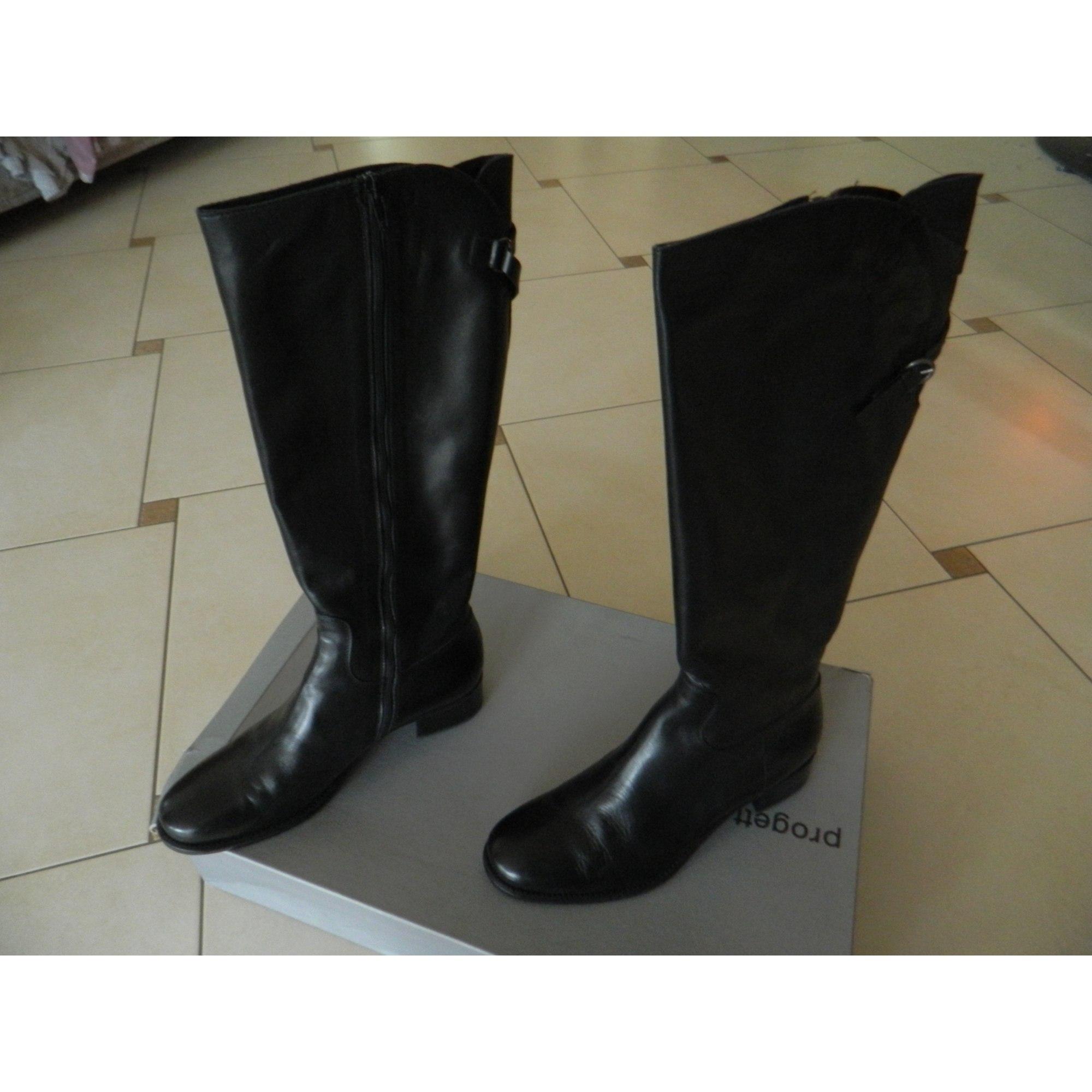 946945536a551c Riding Boots VERO CUOIO 41 black - 5363715
