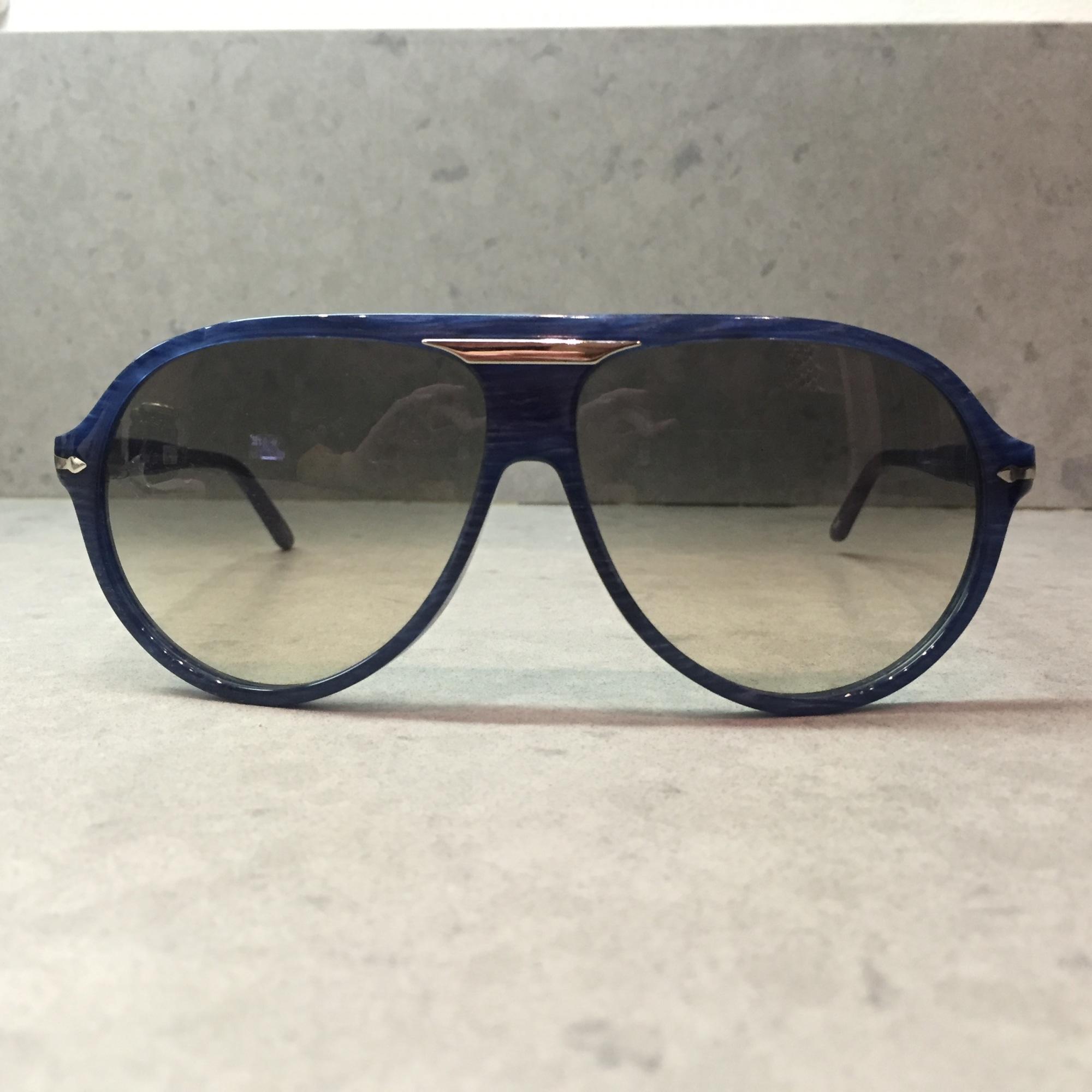 Lunettes de soleil PERSOL Bleu, bleu marine, bleu turquoise d4d8c36355f2