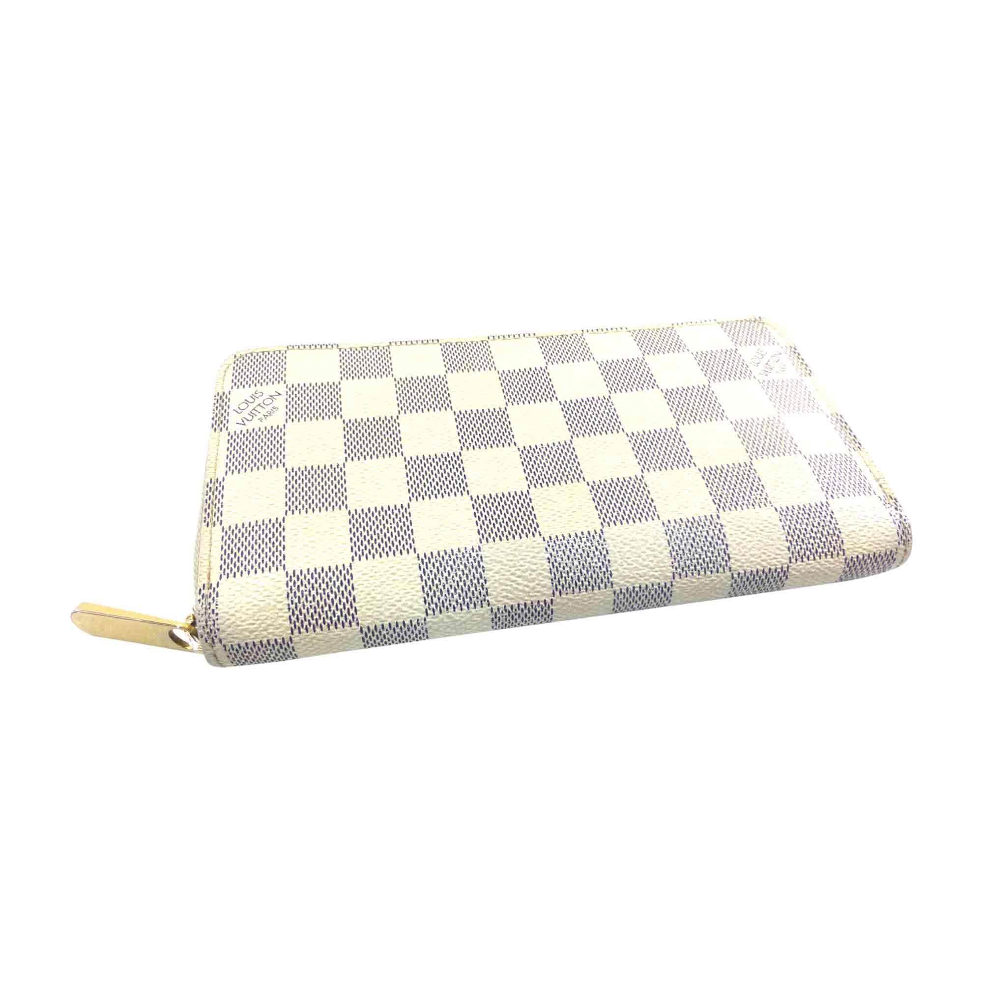 4c0275b9932 Portefeuille LOUIS VUITTON zippy blanc vendu par Bibag - 5370576