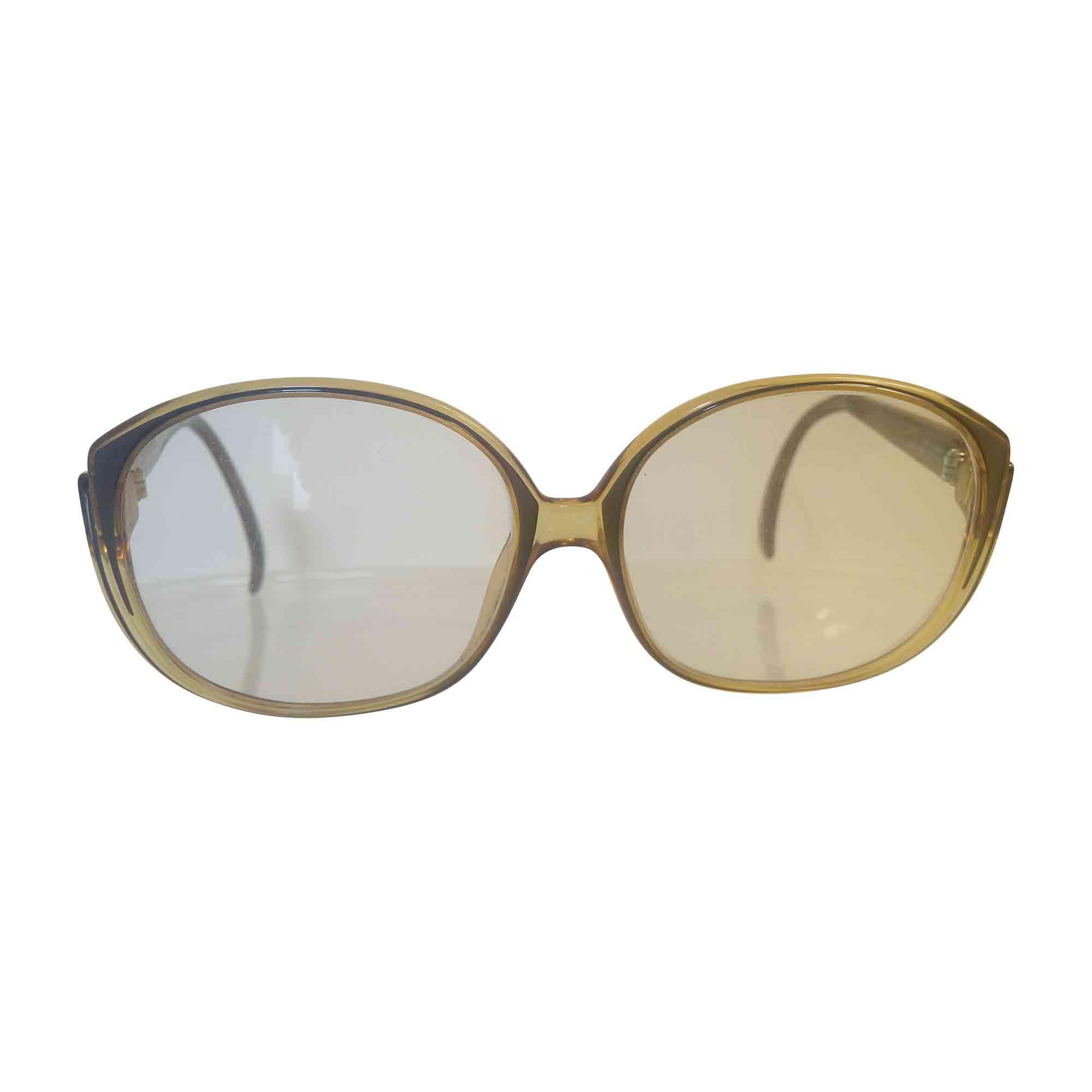 Monture de lunettes DIOR Marron