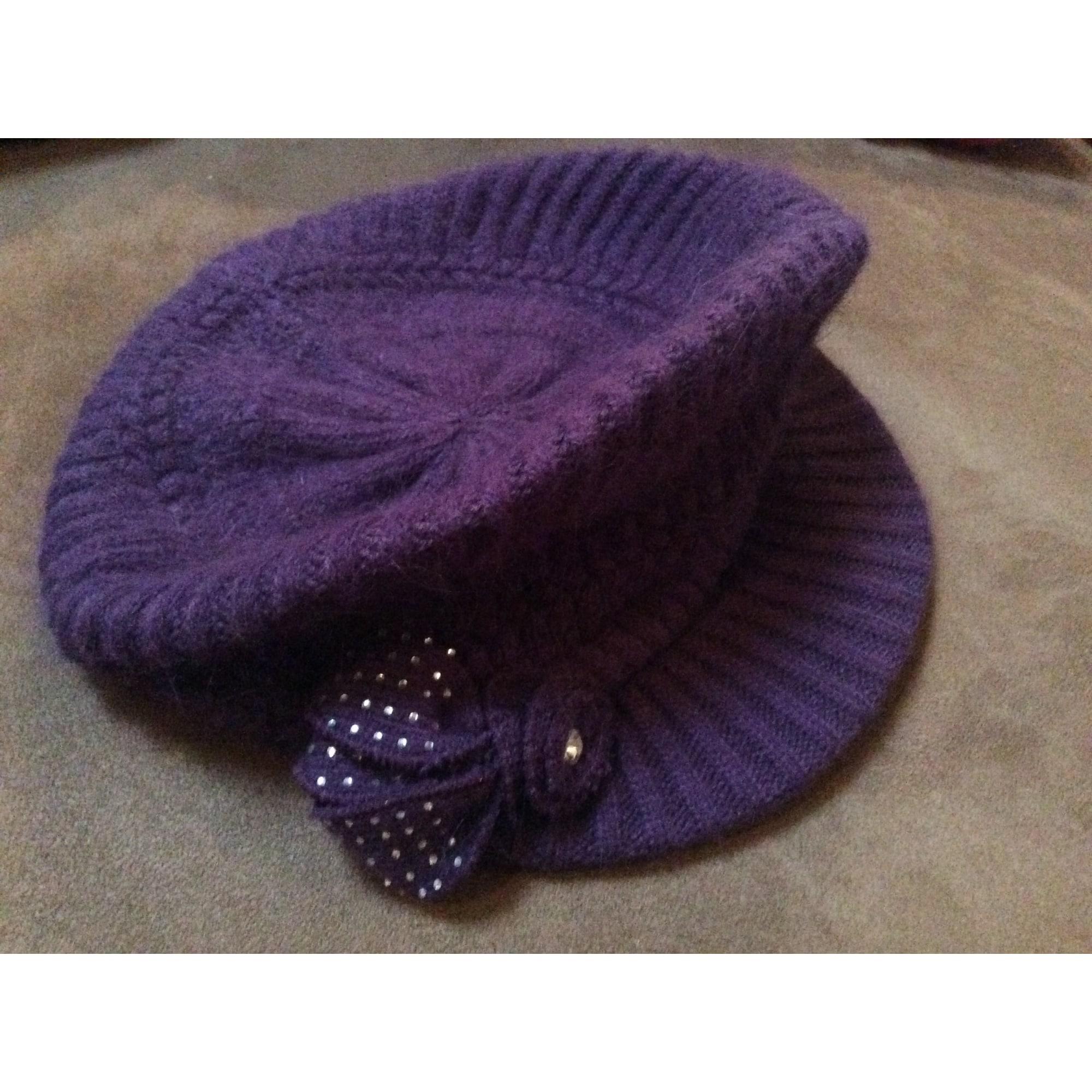Casquette MARQUE INCONNUE Violet, mauve, lavande