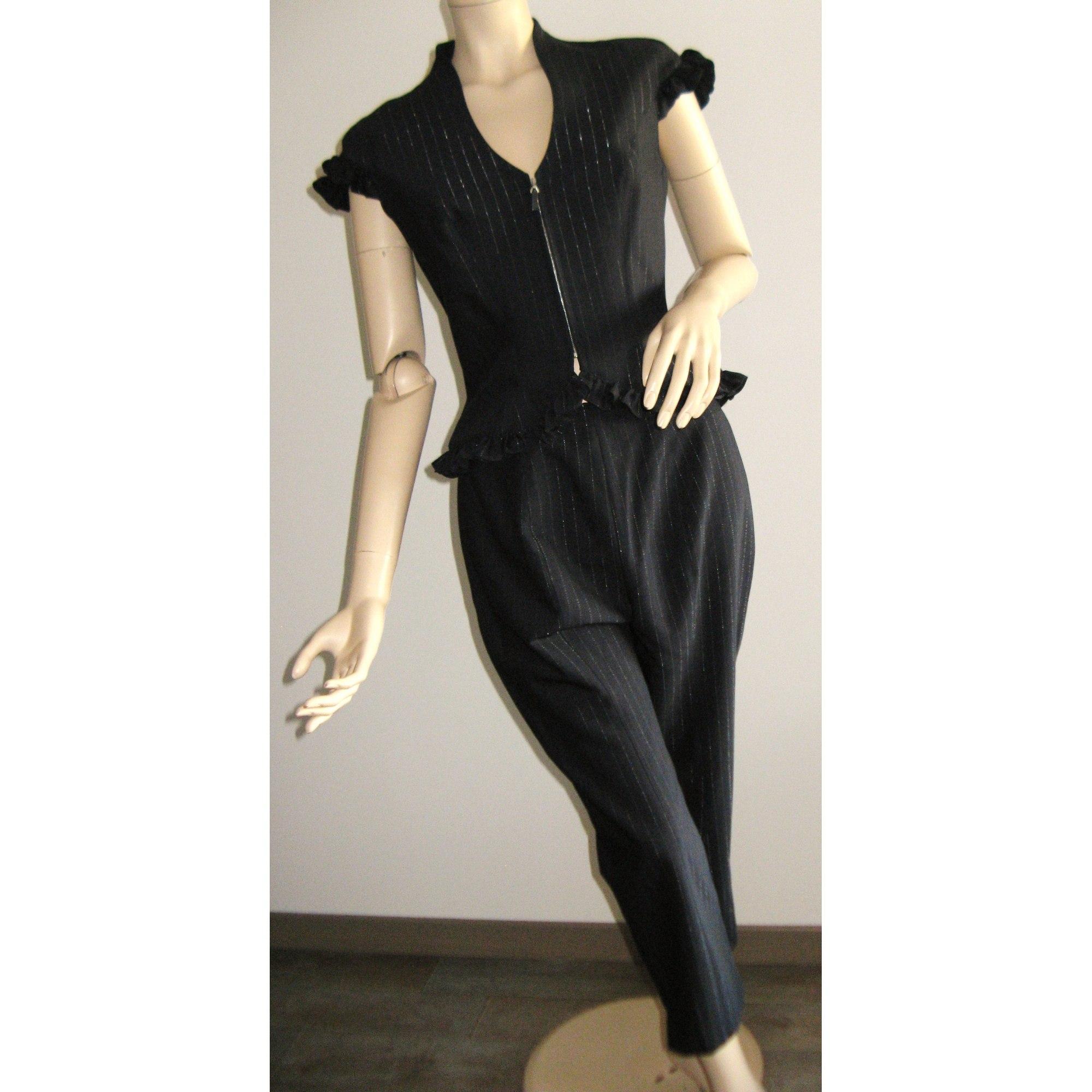 c4f1eb6e41c Tailleur pantalon THIERRY MUGLER 38 (M