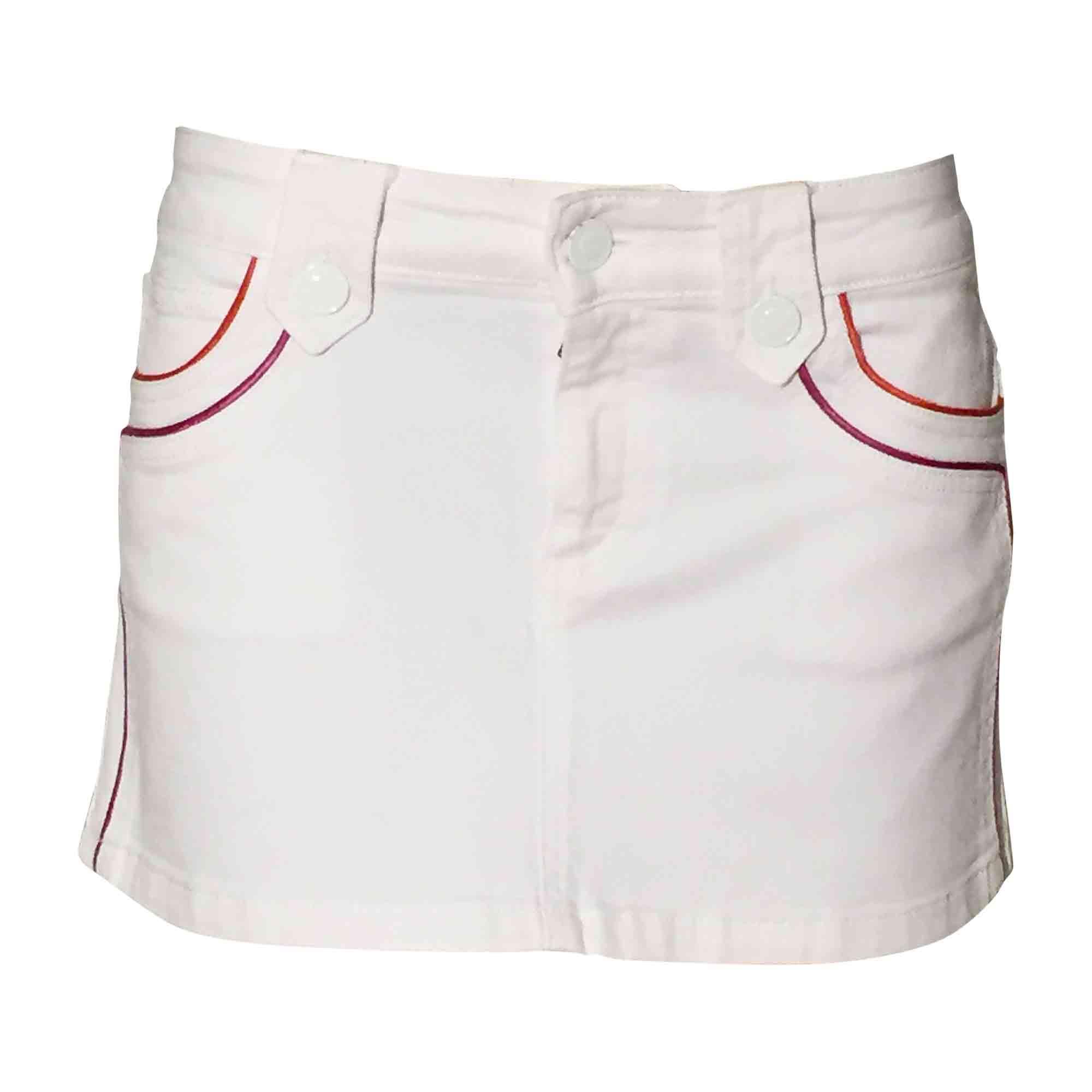 Minirock GUCCI Weiß, elfenbeinfarben