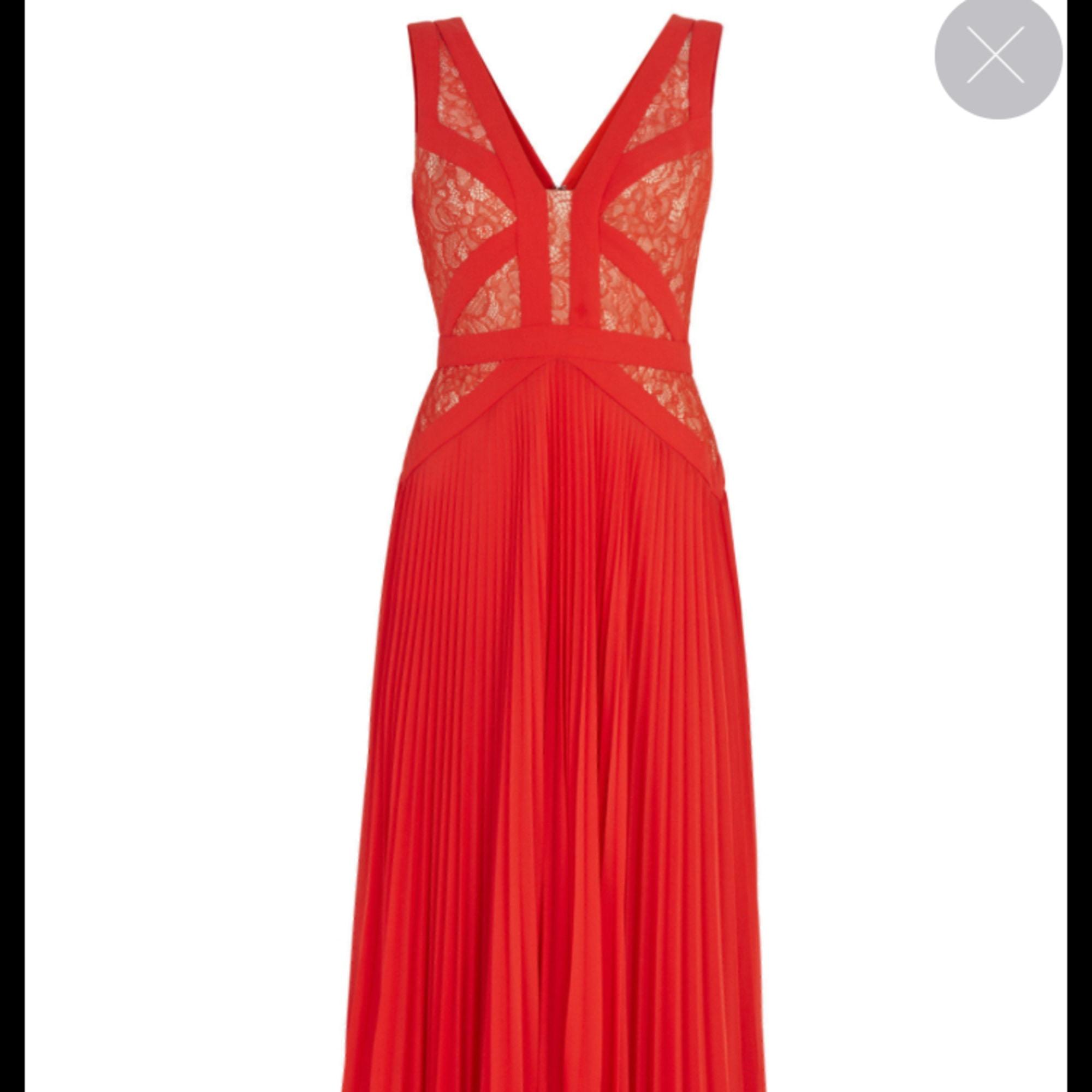 Robe longue BCBG MAX AZRIA 32 (XXS) rouge corail - 5421641 4ad6ac9b8d6d