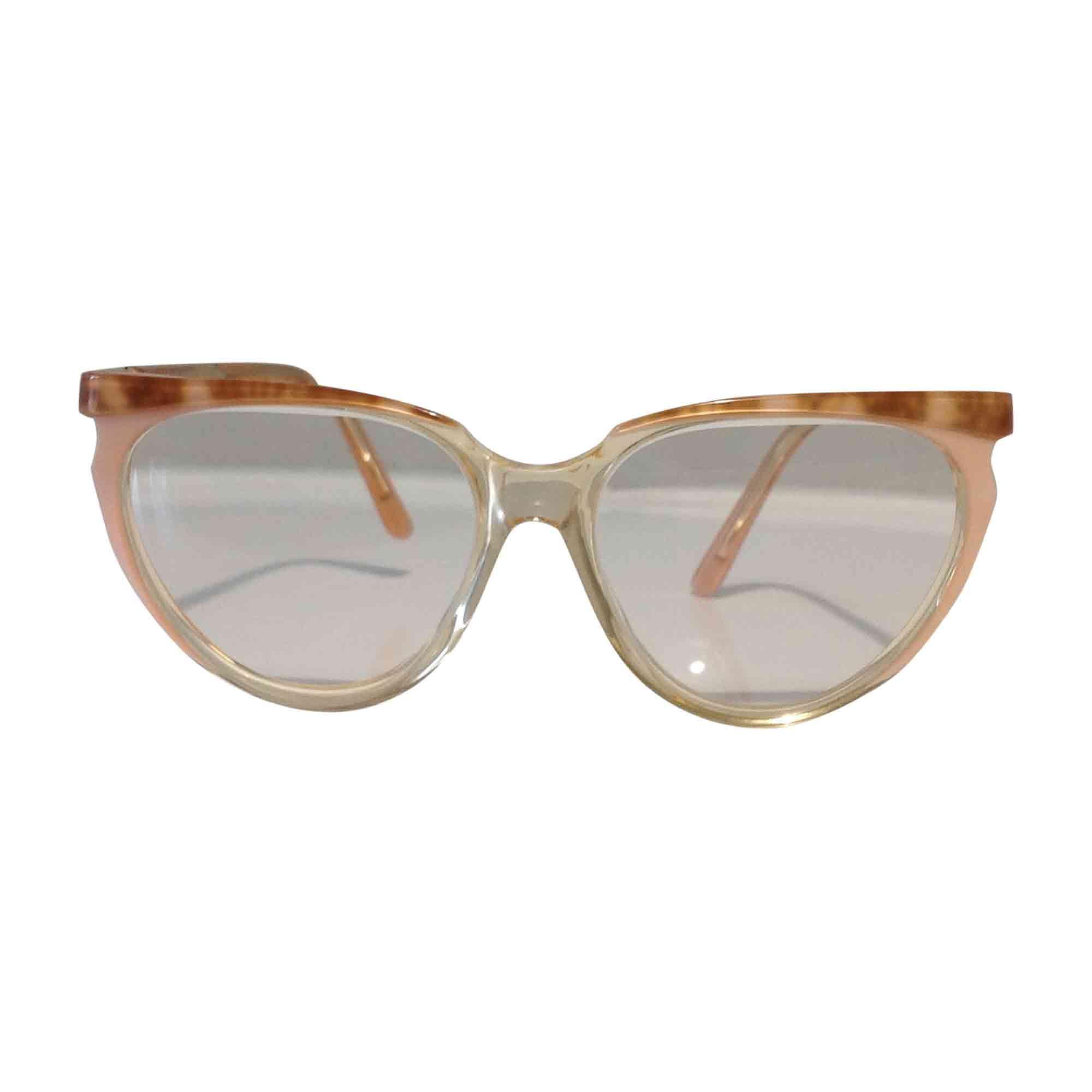 monture de lunettes yves saint laurent beige 5455678. Black Bedroom Furniture Sets. Home Design Ideas