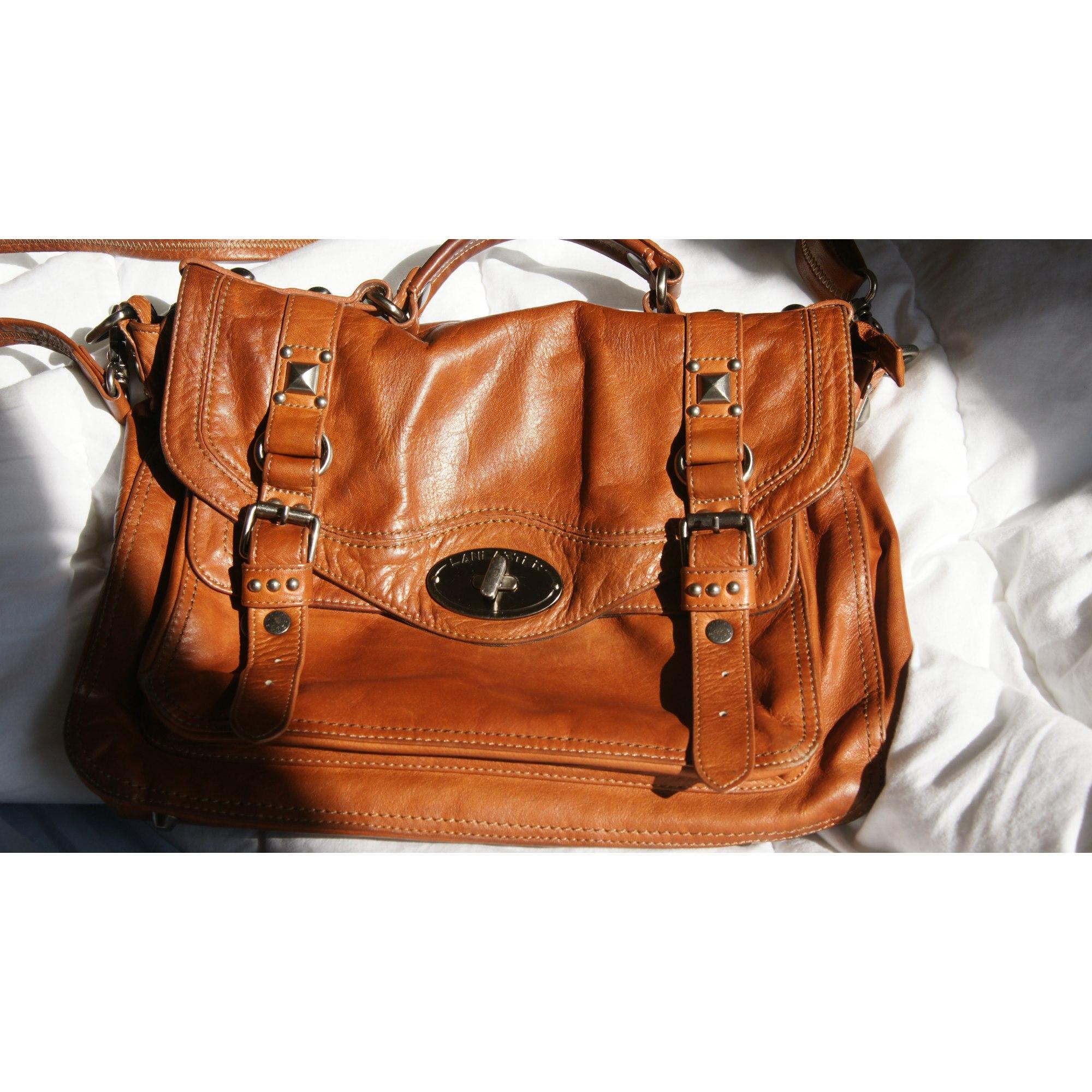 143d7a7227 Sac en bandoulière en cuir LANCASTER marron vendu par Anatolelouise ...
