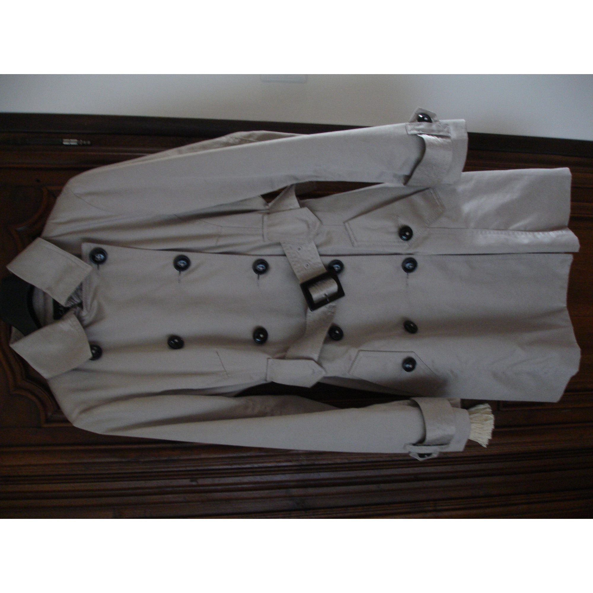 d5aaabe1d922 Imperméable, trench CAROLL 36 (S, T1) beige - 5479284