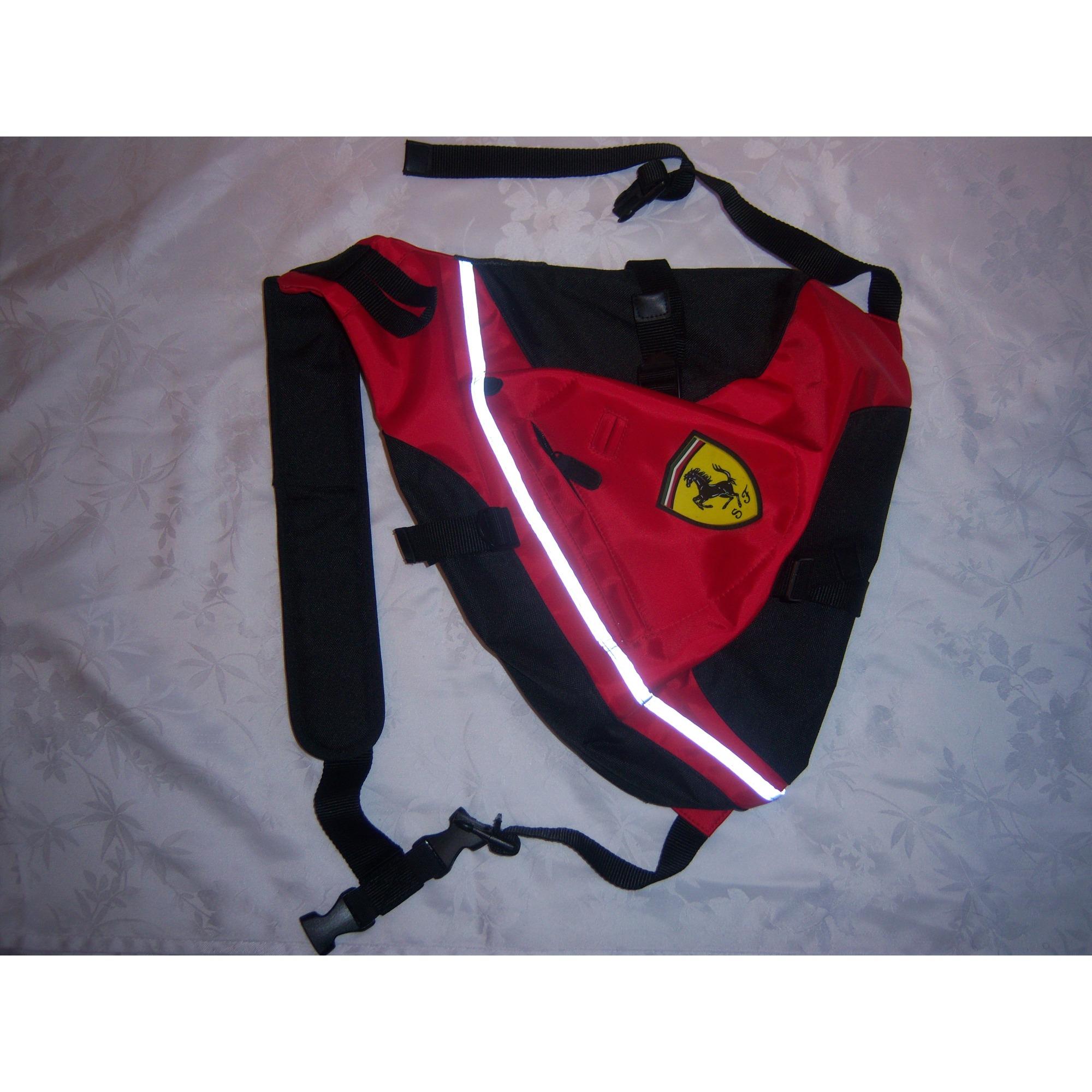 À 5480195 Sac Ferrari Dos Rouge A5Rj34Lq