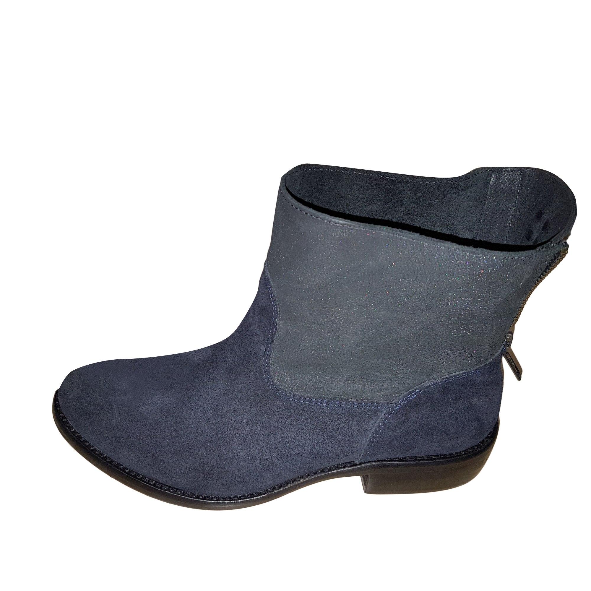 Boots Berenice Low Bleu 5529756 Plates amp; 36 Bottines 6xBAnOqUWn