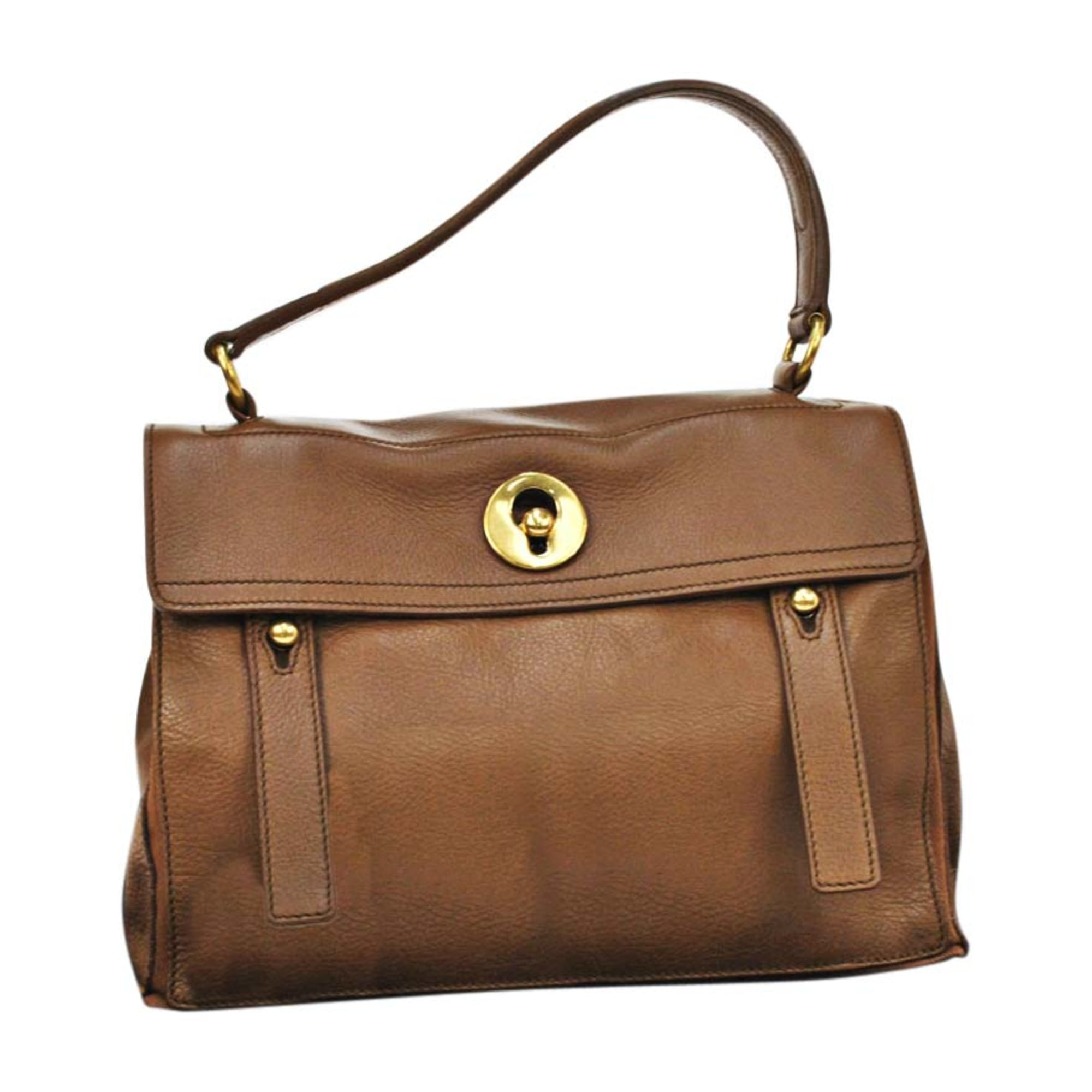 5541654 Yves Sac Two À Cuir Main En Laurent Muse Saint Marron wOPkXuTZi