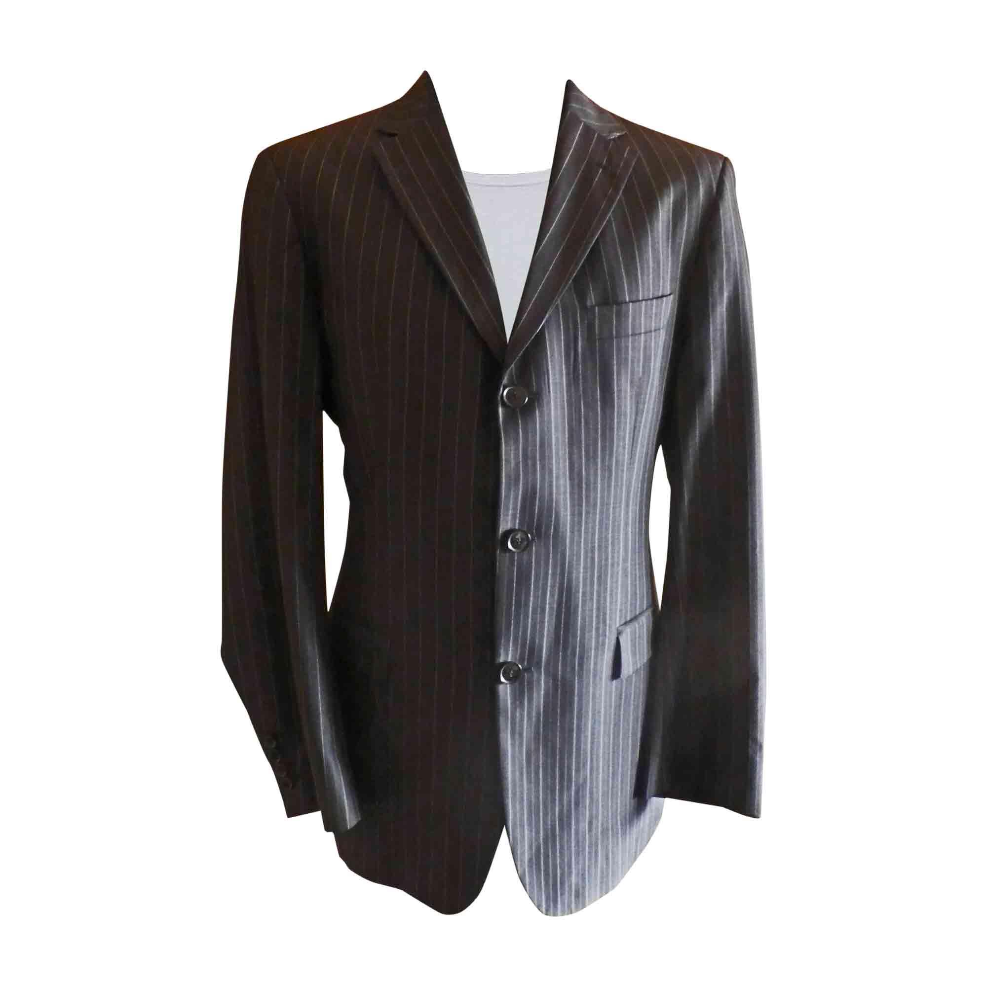 veste hugo boss 50 m gris 5553720. Black Bedroom Furniture Sets. Home Design Ideas