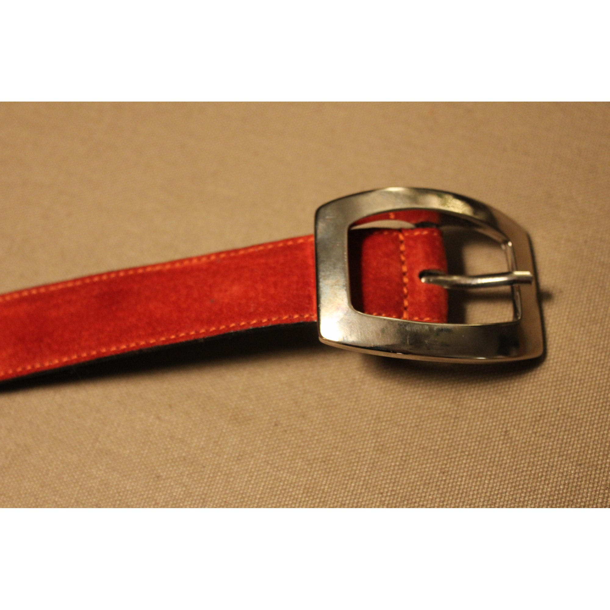 Ceinture fine ABACO 80 orange - 5557653 d01d29e8640