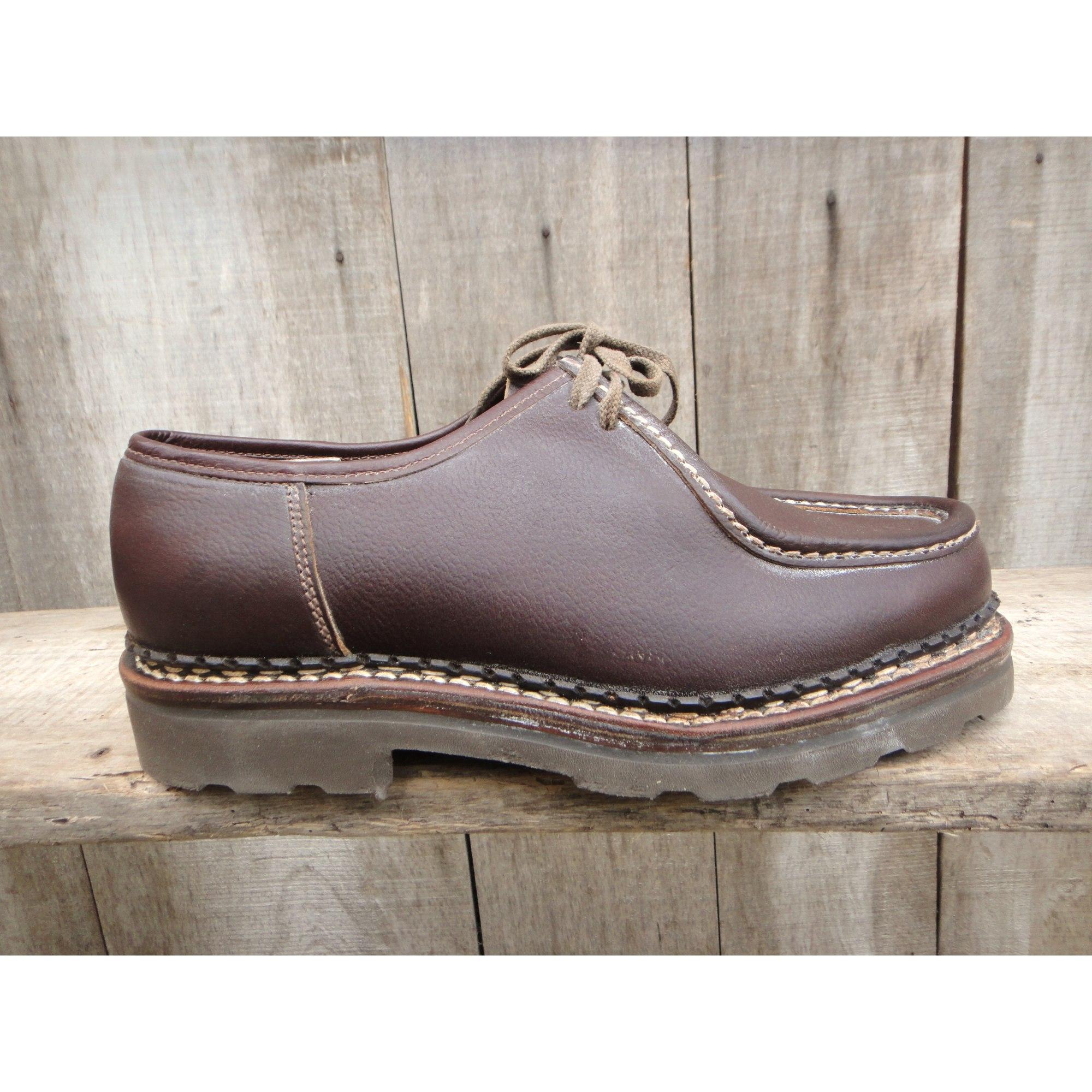 f19abac7c513 Chaussures à lacets TRAPPEUR 42 marron vendu par Le grenier de sacha ...