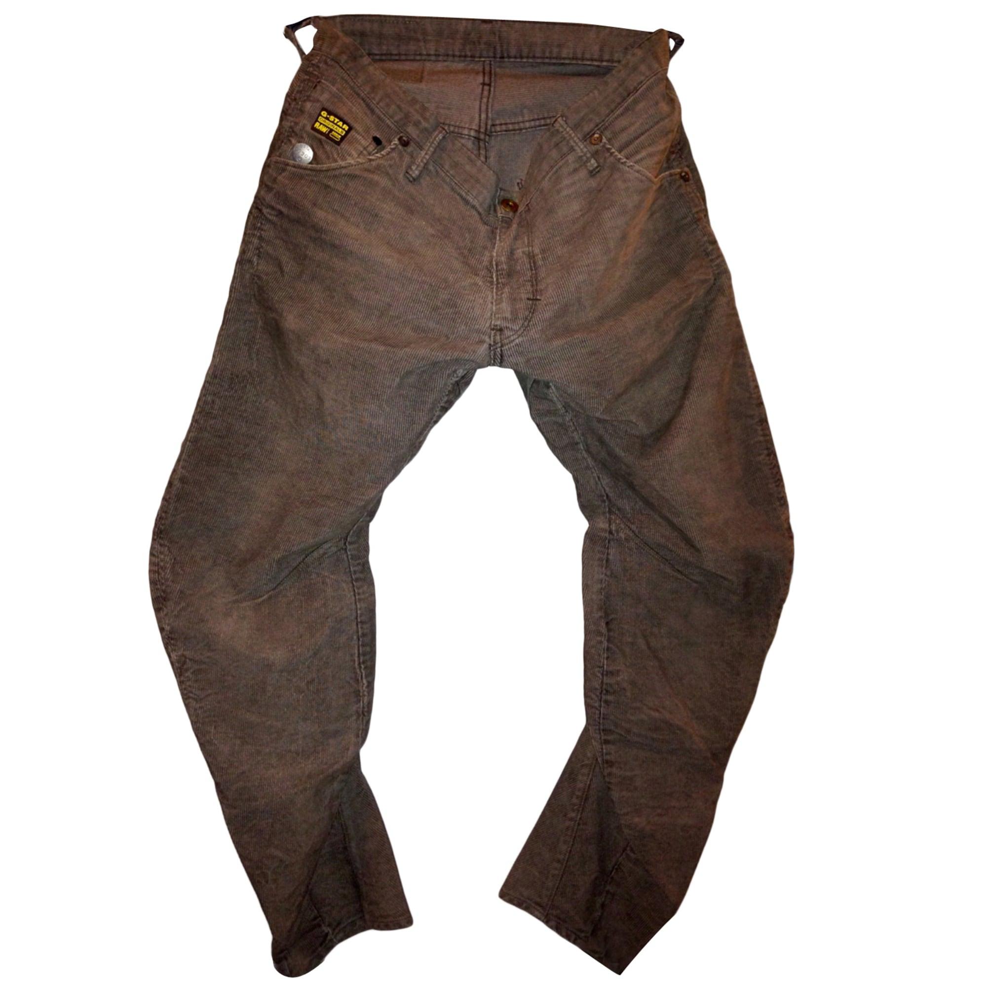 Pantalon large G-STAR Doré, bronze, cuivre