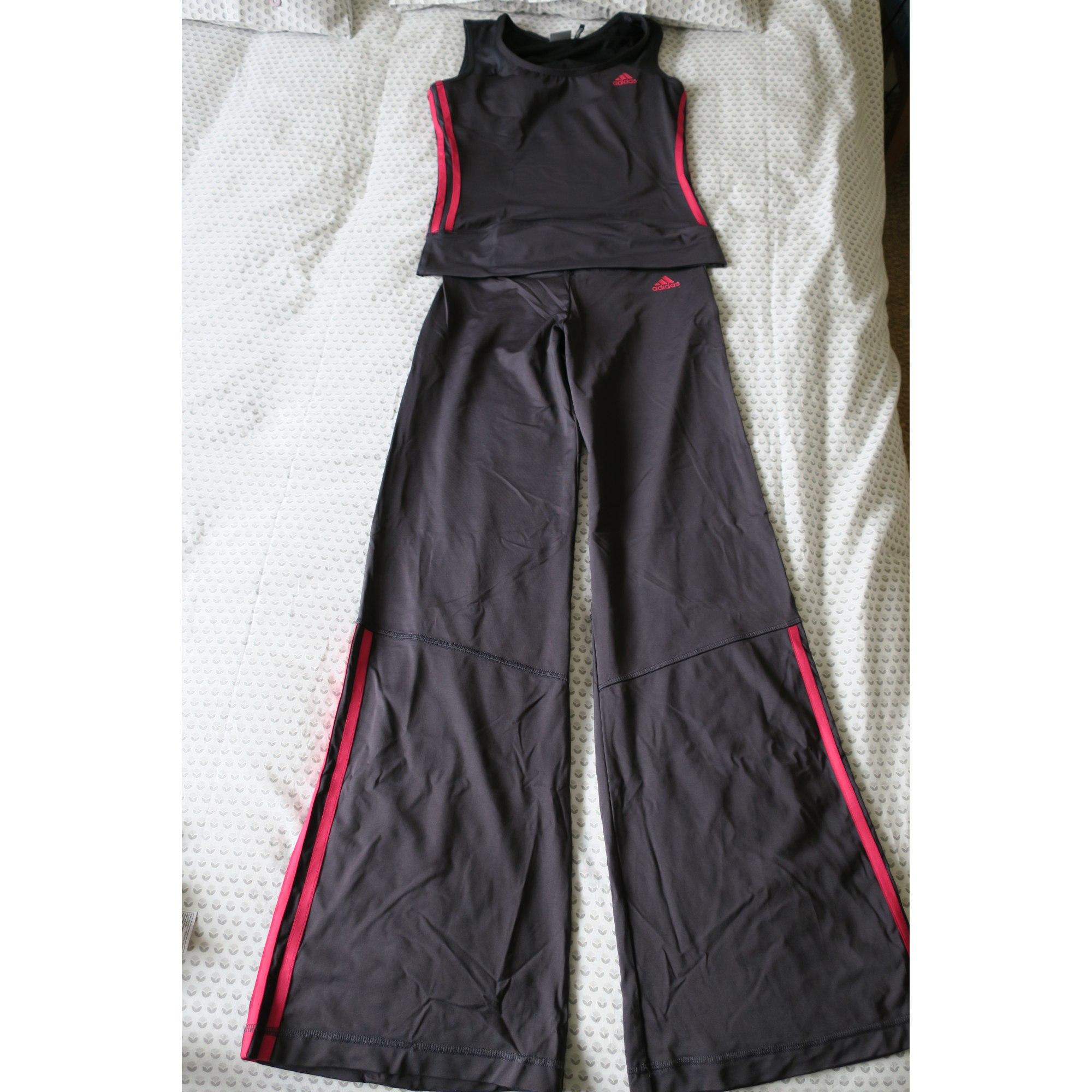 Fitness s De Adidas Gris 5581974 36 T1 Pantalon Pqv7wUq