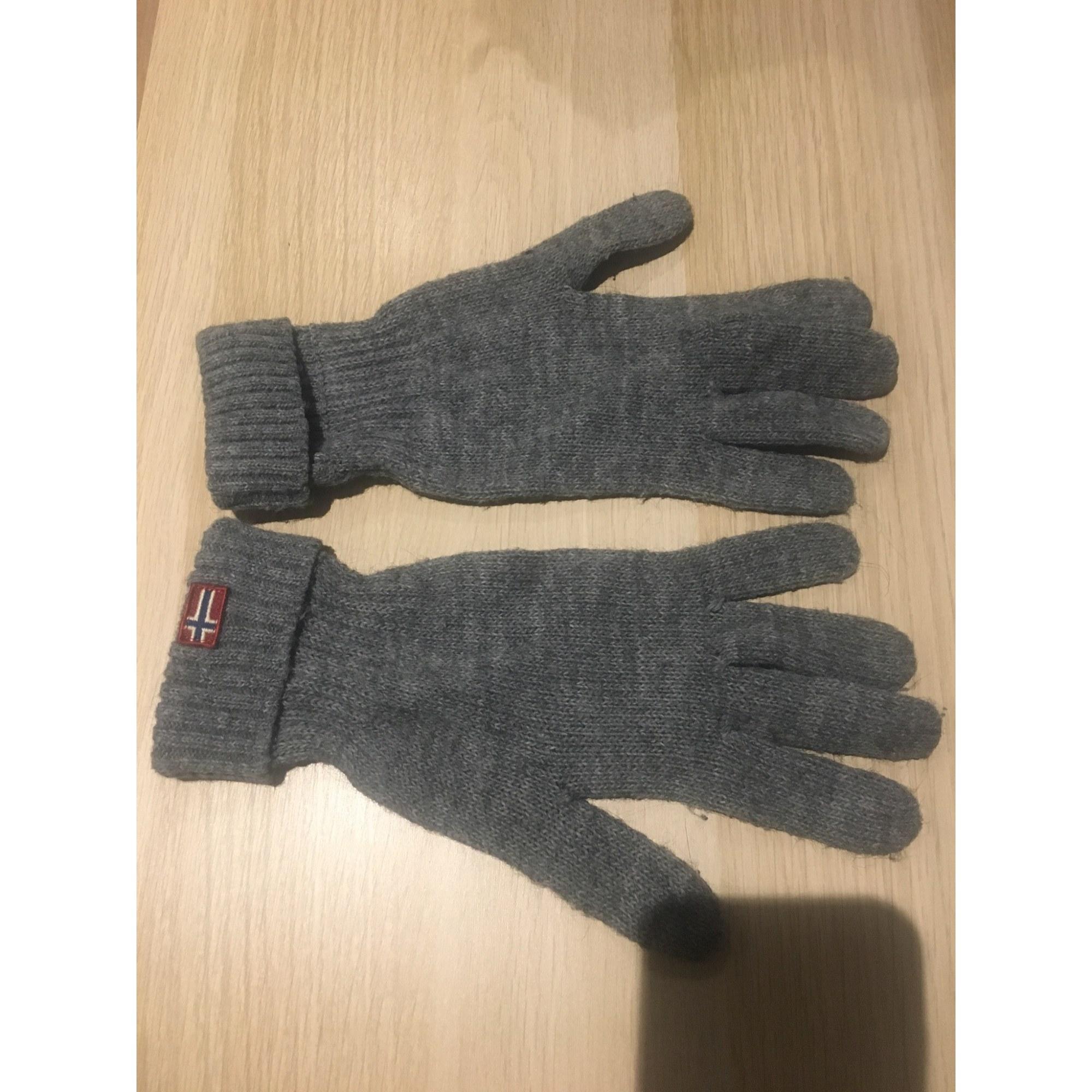Gloves NAPAPIJRI Gray, charcoal