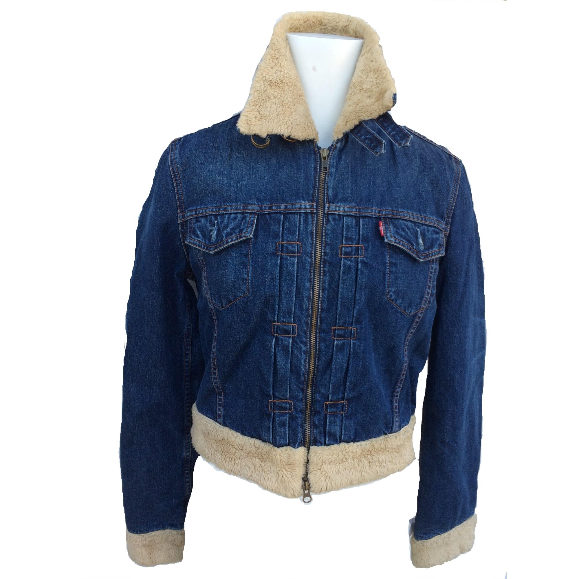 5607133 42 Levi's Bleu En T4 Blouson Jean lxl wtUP0nwqx