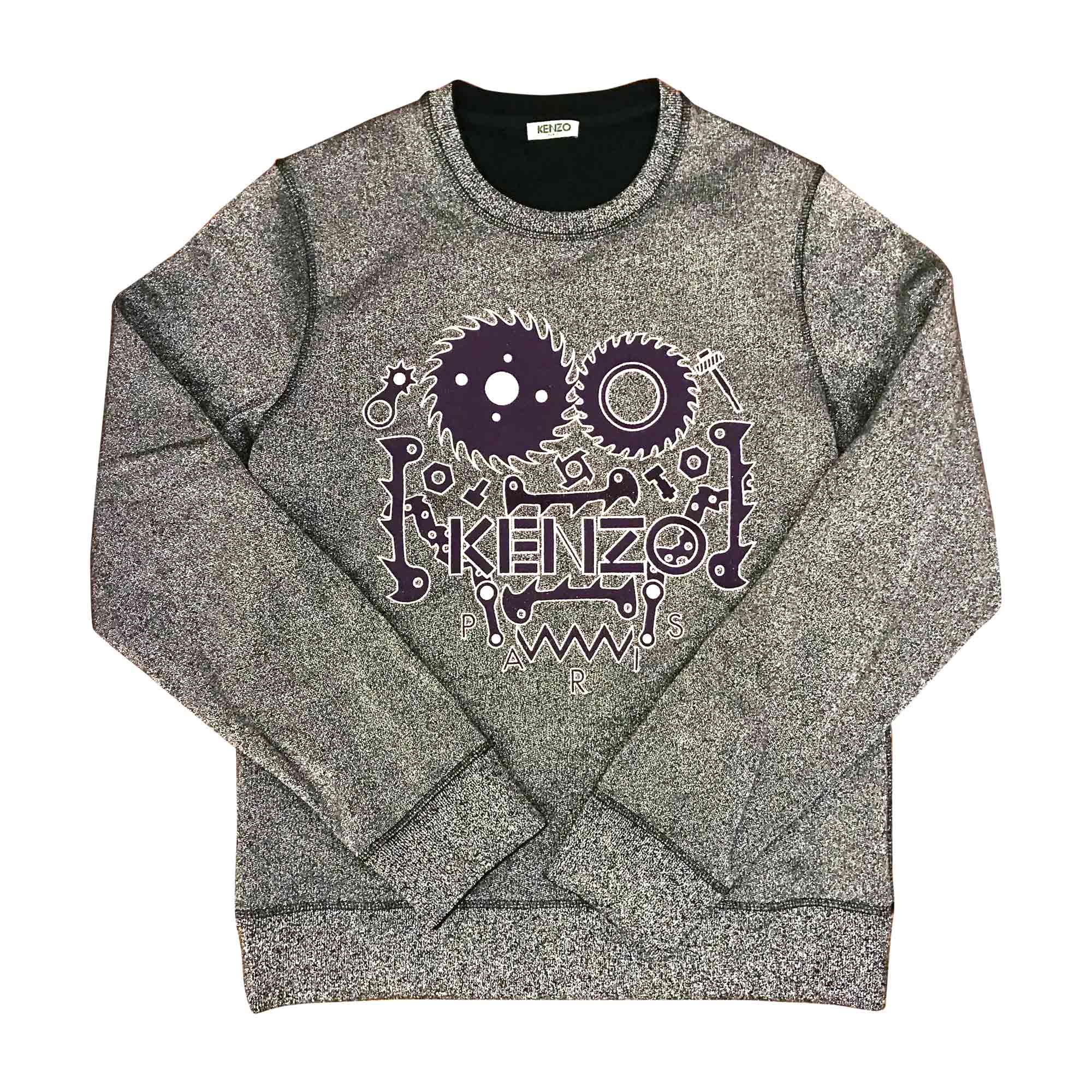 Pull KENZO 36 (S, T1) argenté - 5619241 46f6a4251cf