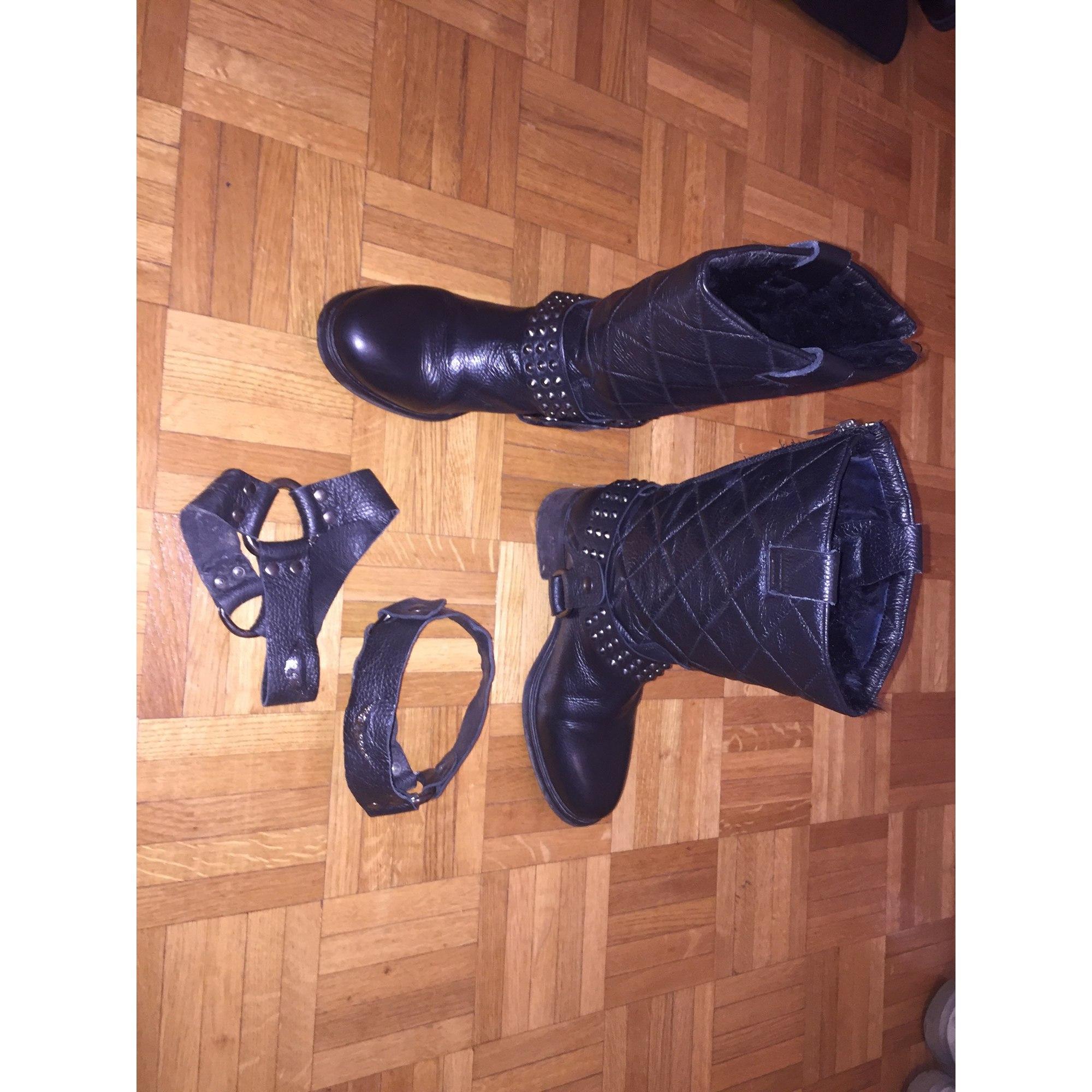 Bottes motards ZADIG & VOLTAIRE Noir