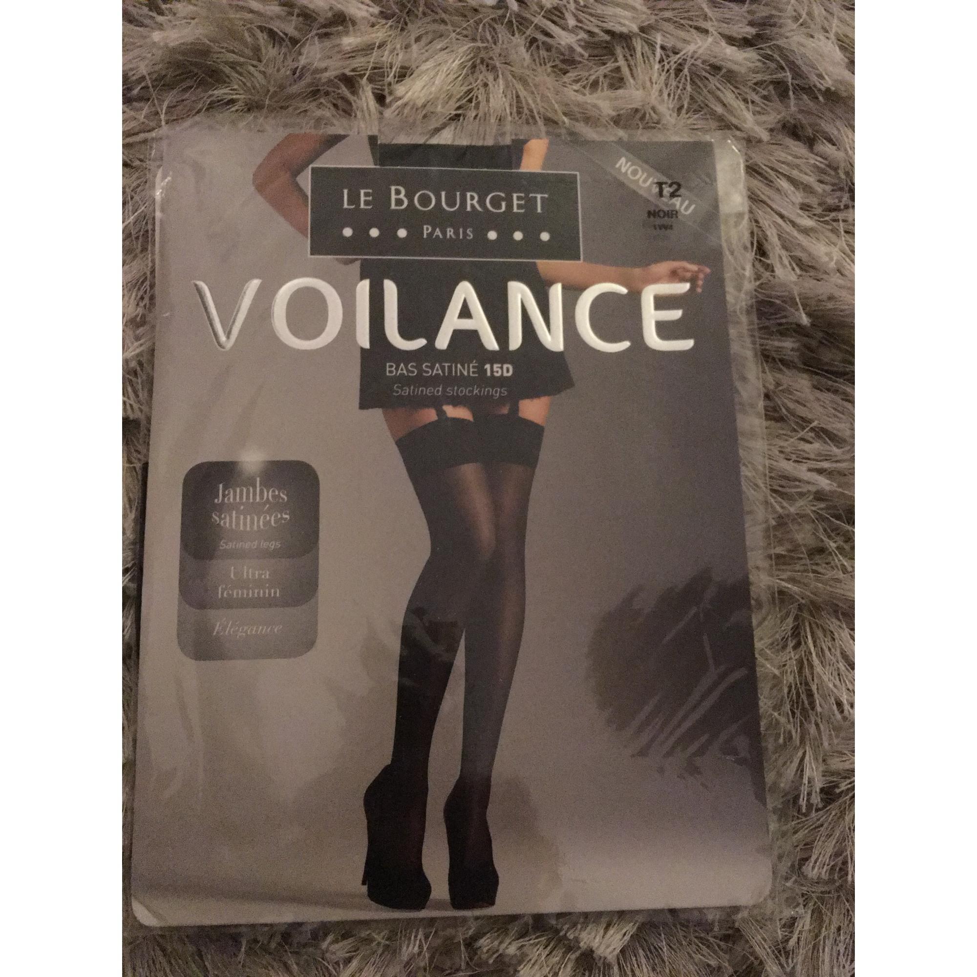 Bas LE BOURGET 2 noir vendu par Monique 4 - 5644067 7ed3ca89431